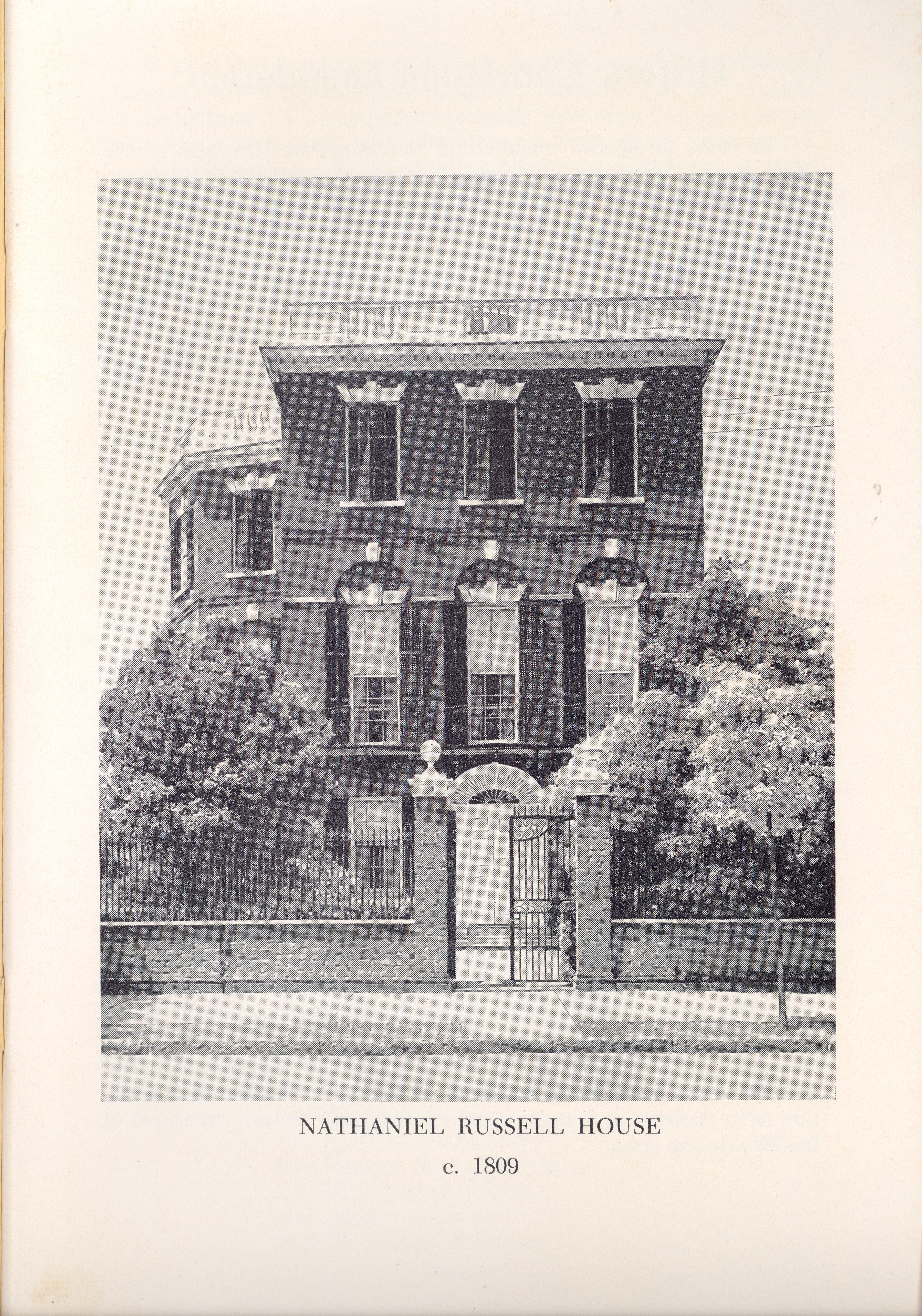 Page 1:  Photograph, Nathaniel Russell House