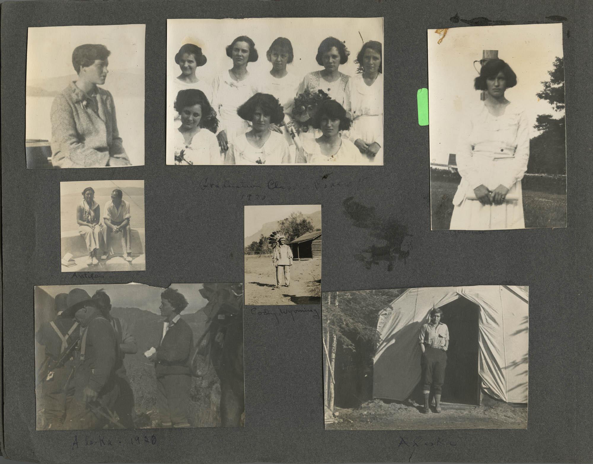 """""""G. E. du P. S.""""  Photograph Album, 1902, Page 20"""