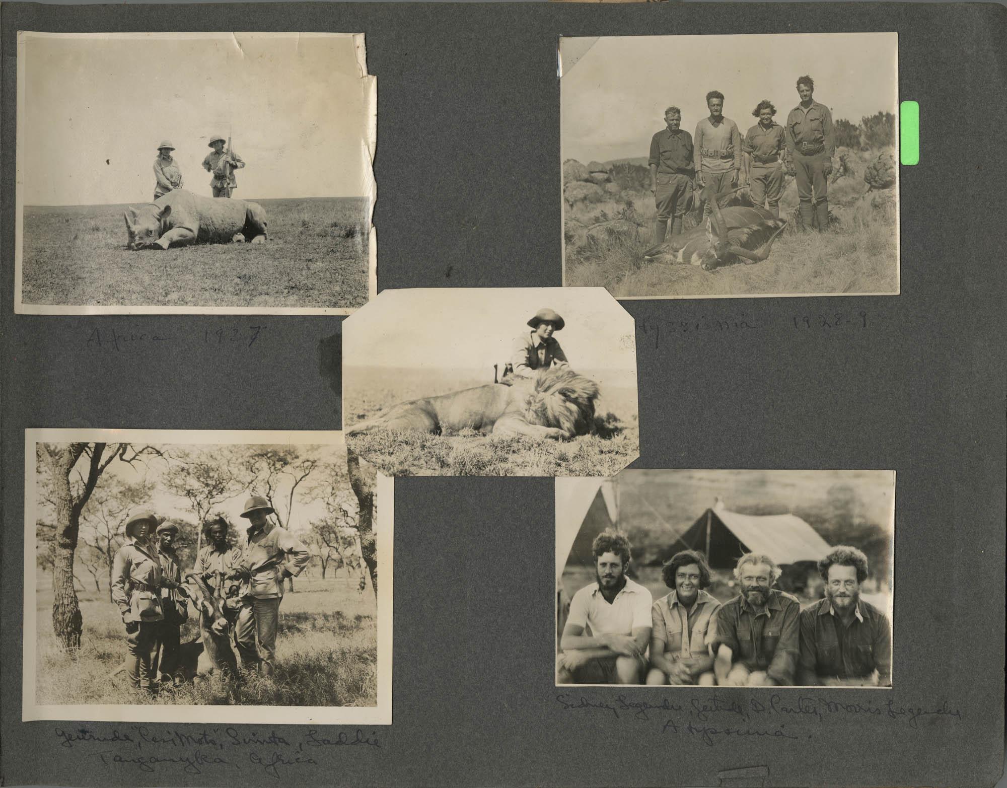 """""""G. E. du P. S.""""  Photograph Album, 1902, Page 21"""