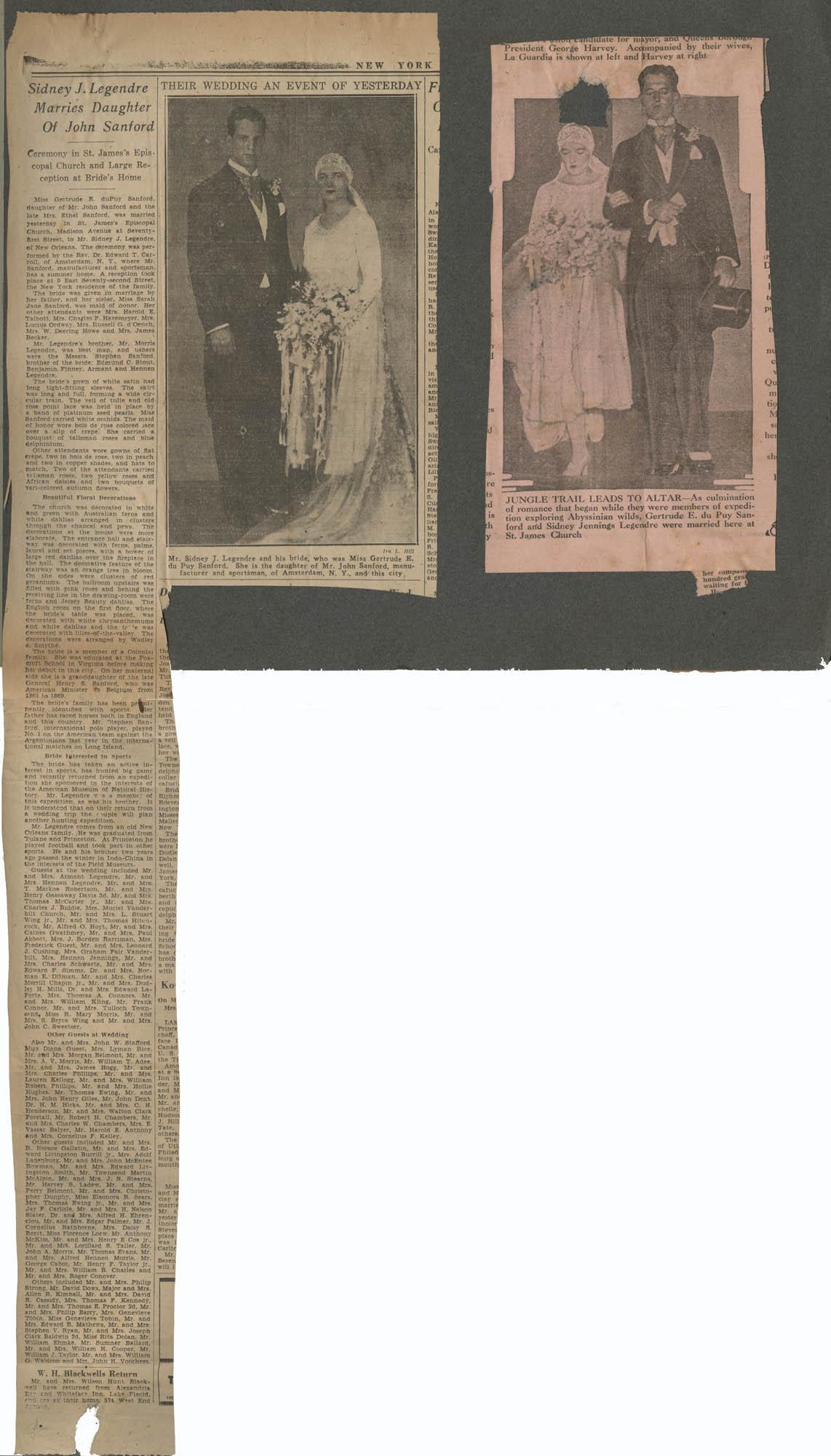 """""""G. E. du P. S.""""  Photograph Album, 1902, Page 23"""