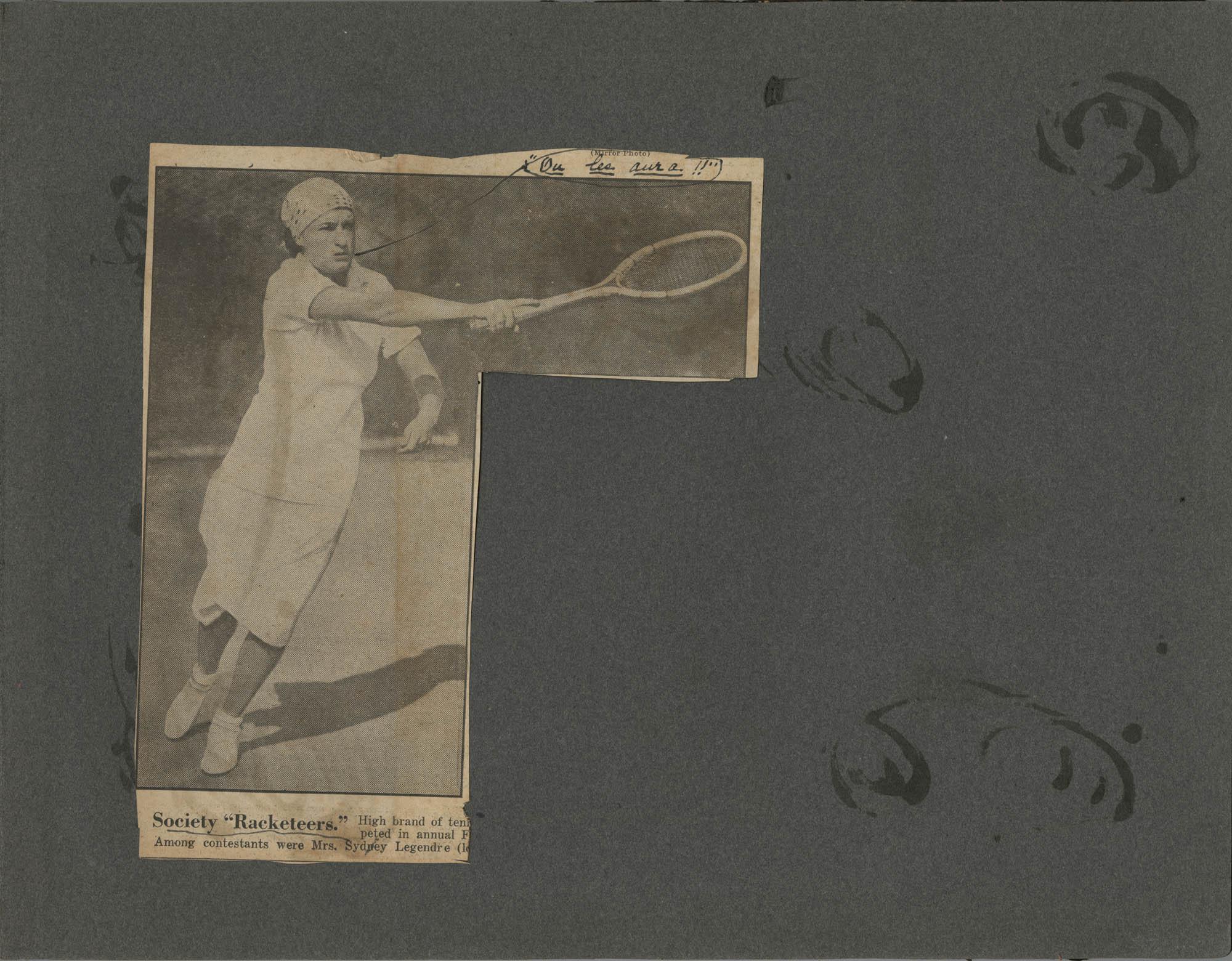 """""""G. E. du P. S.""""  Photograph Album, 1902, Page 37"""
