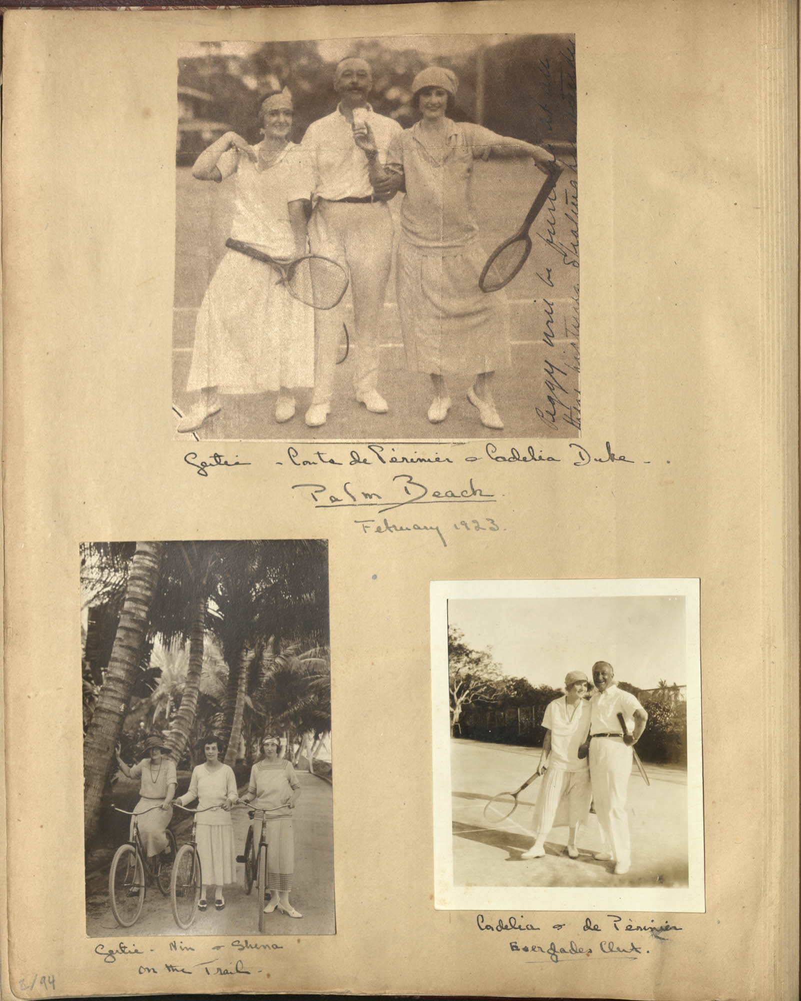 Sanford Family Photograph Album, 1922, Page 2