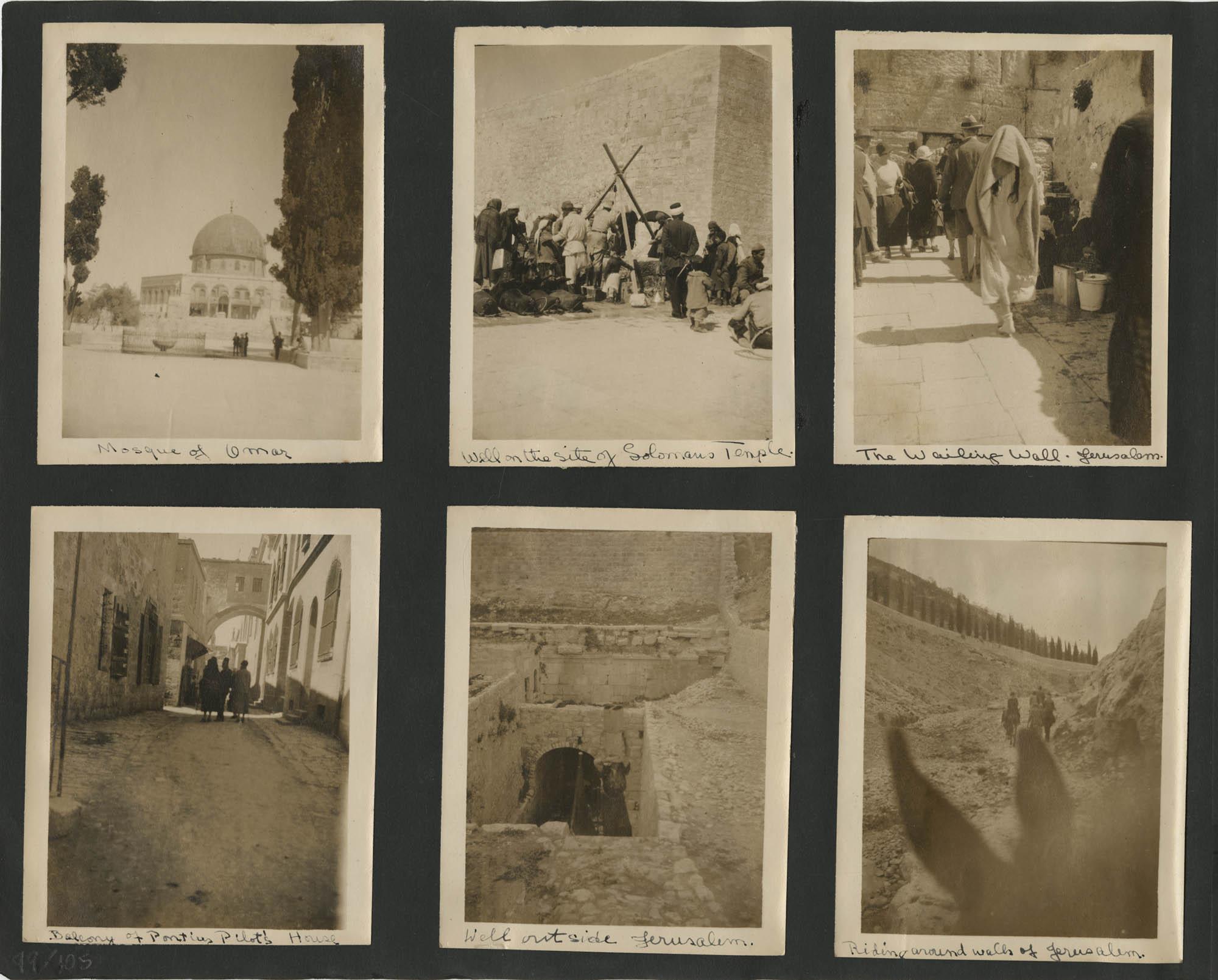 Egypt Photograph Album, 1925, Page 99
