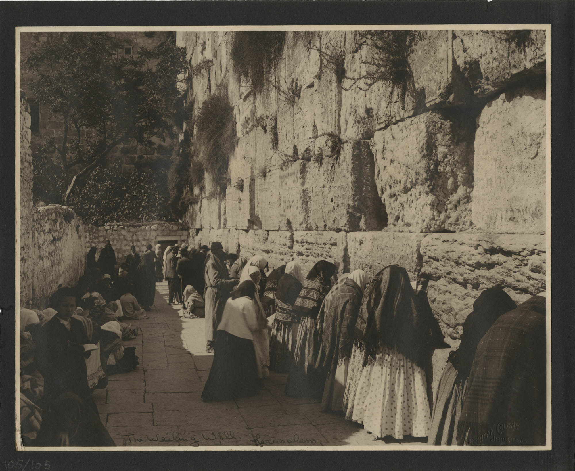 Egypt Photograph Album, 1925, Page 105