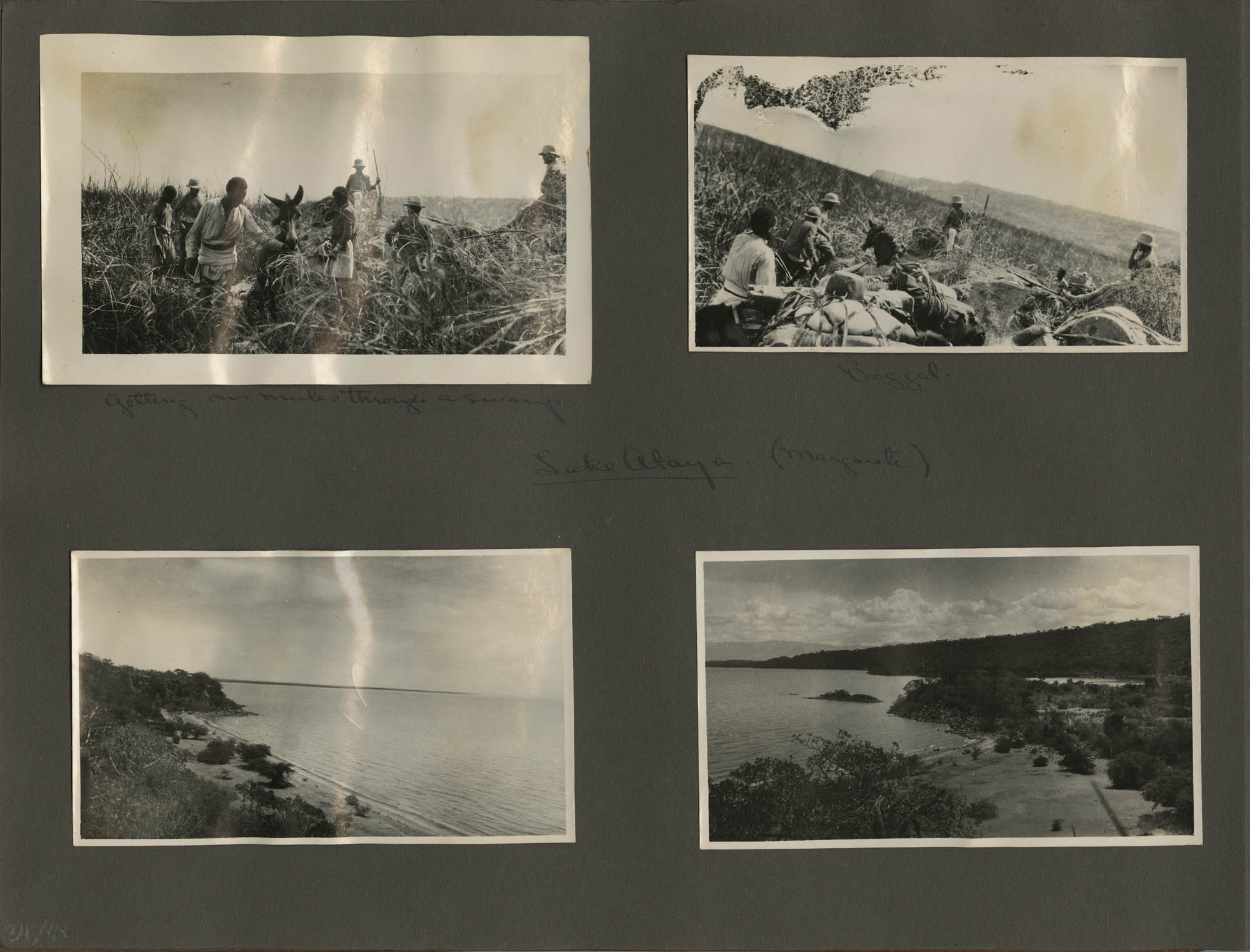 Abyssinia Expedition Photograph Album, 1928, Page 34