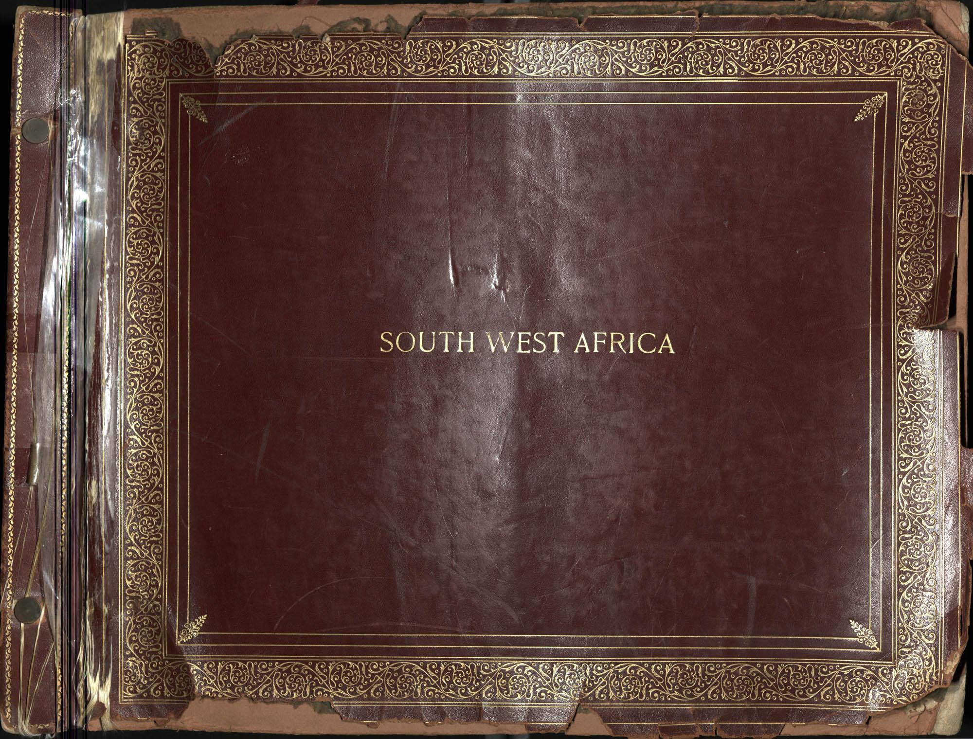 """South West Africa"" Photograph Album, 1937"