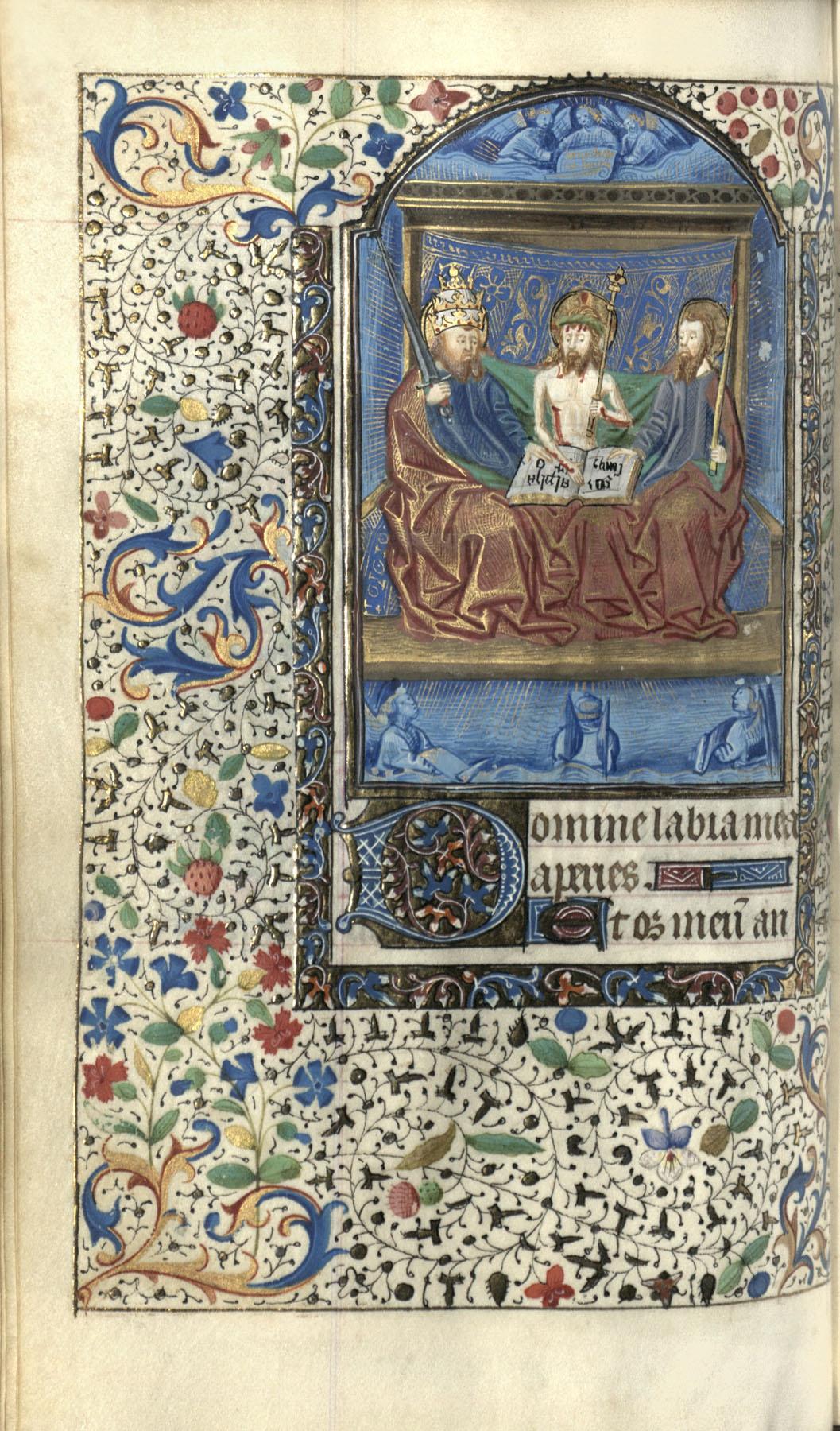 Horae Beatae Mariae Virginis (Use of Paris), Folio 100a