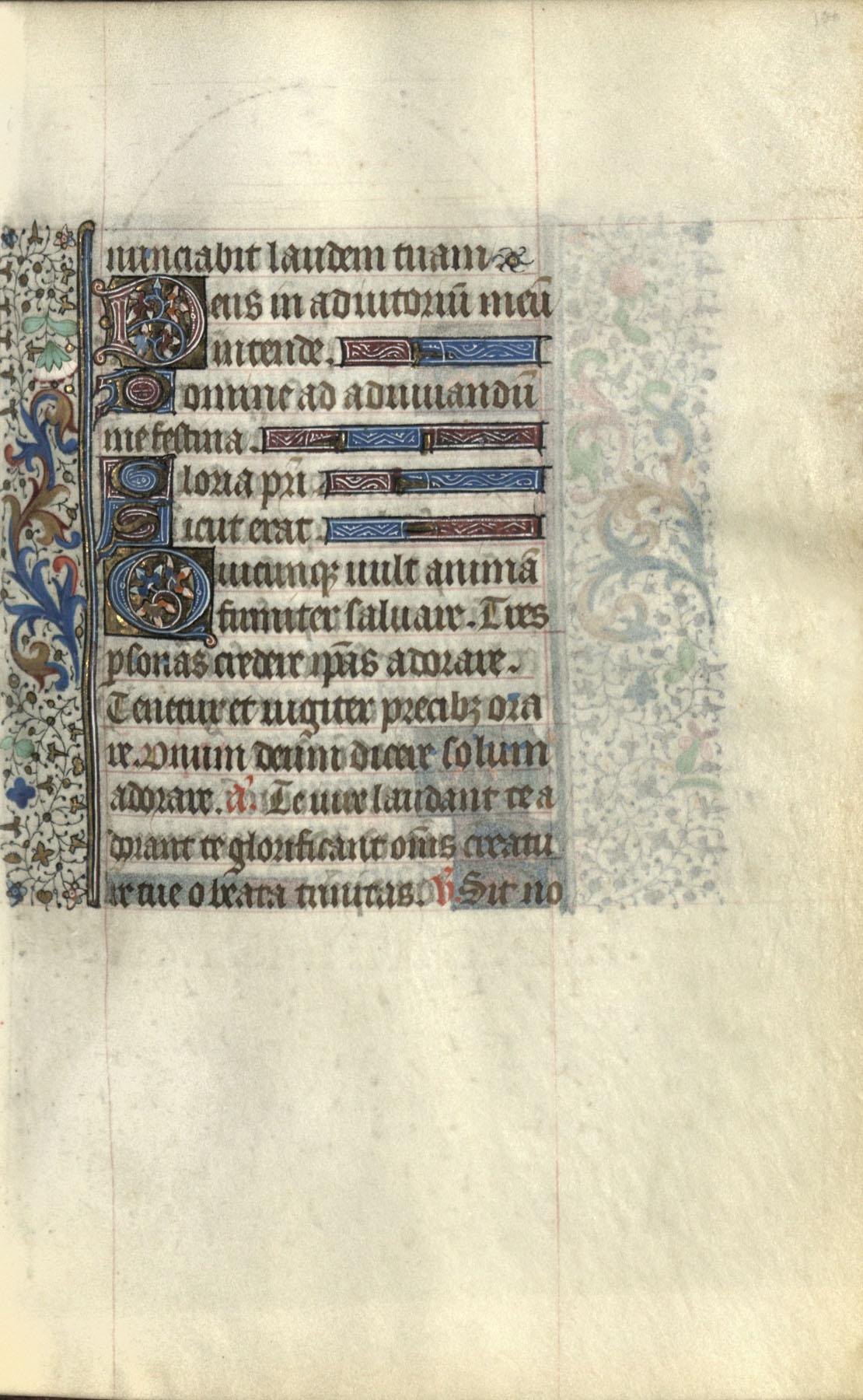 Horae Beatae Mariae Virginis (Use of Paris), Folio 100b