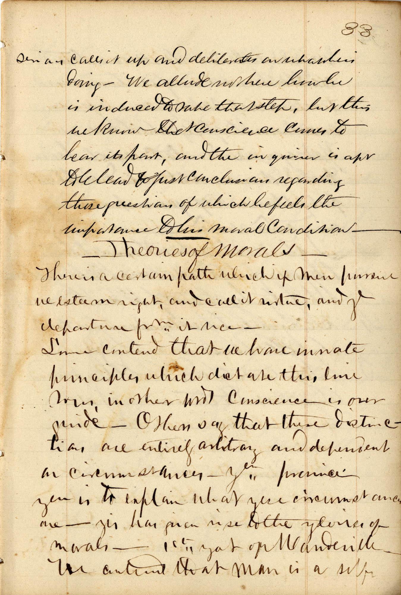 David Henry Mordecai Travel Diary (1849), Page 101
