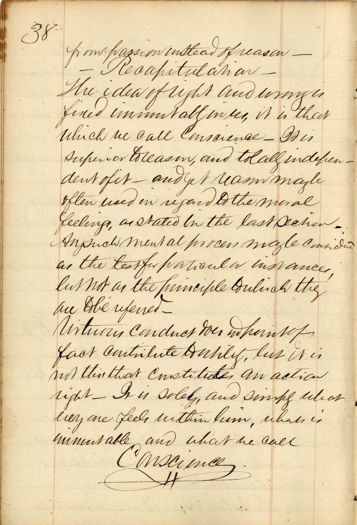 David Henry Mordecai Travel Diary (1849), Page 106