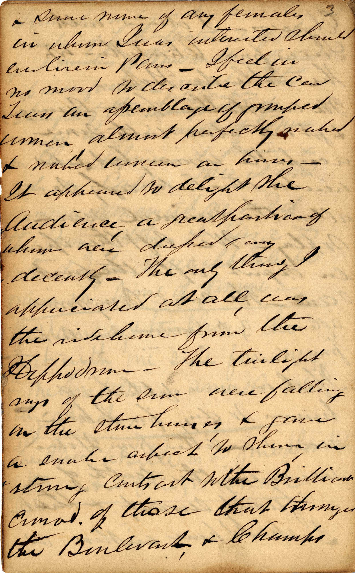 David Henry Mordecai Travel Diary (1850), Page 3