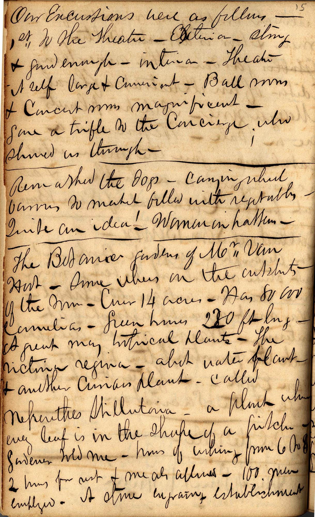 David Henry Mordecai Travel Diary (1850), Page 15