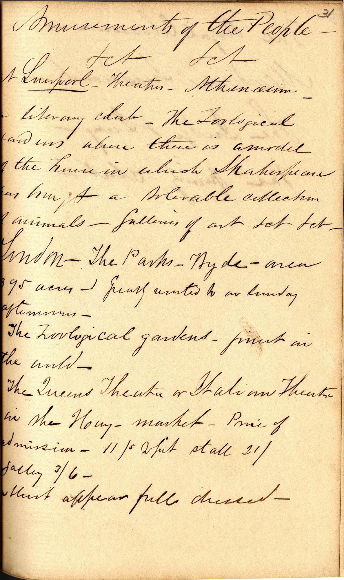 David Henry Mordecai Travel Diary (1850), Page 31