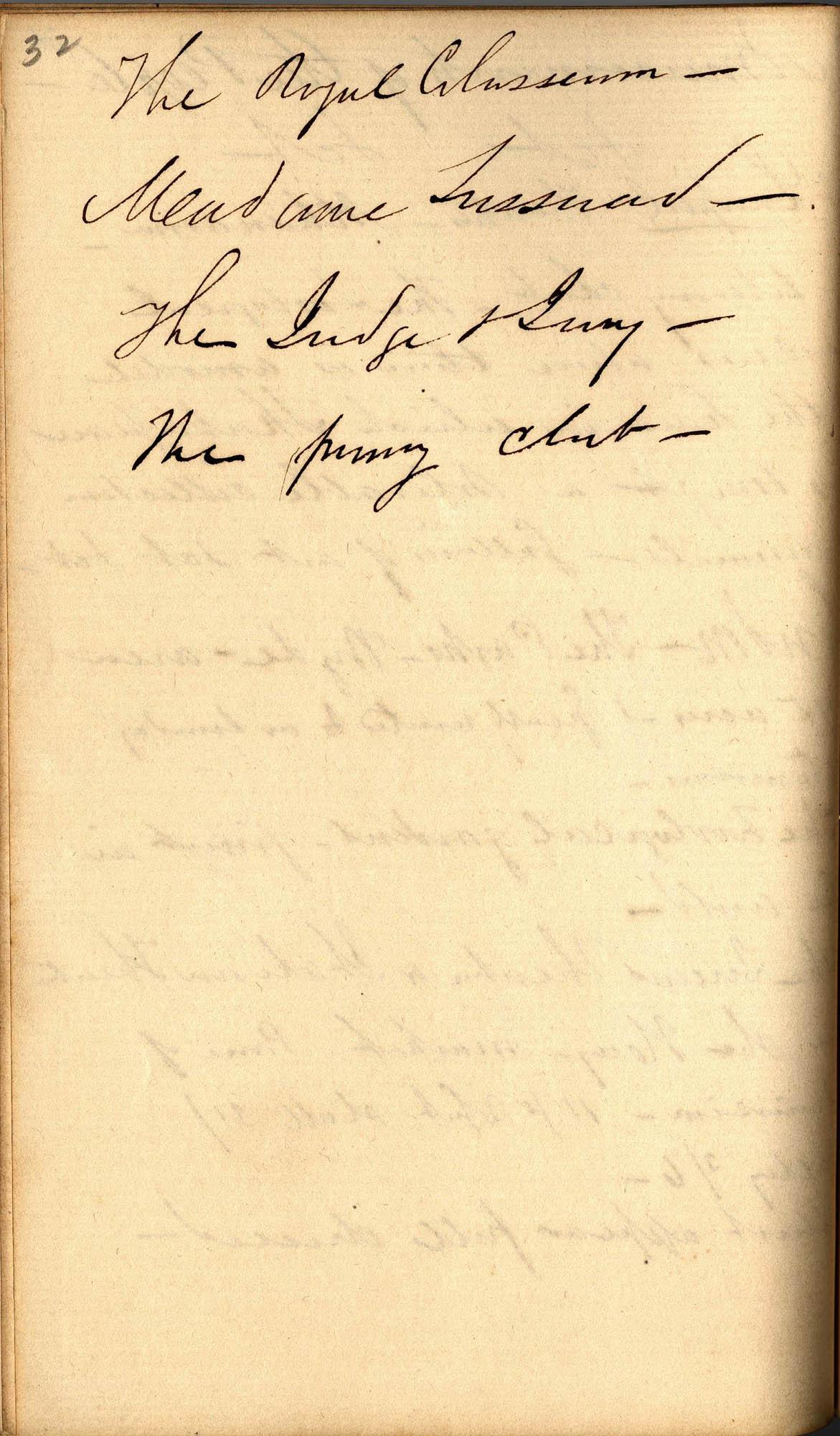 David Henry Mordecai Travel Diary (1850), Page 32