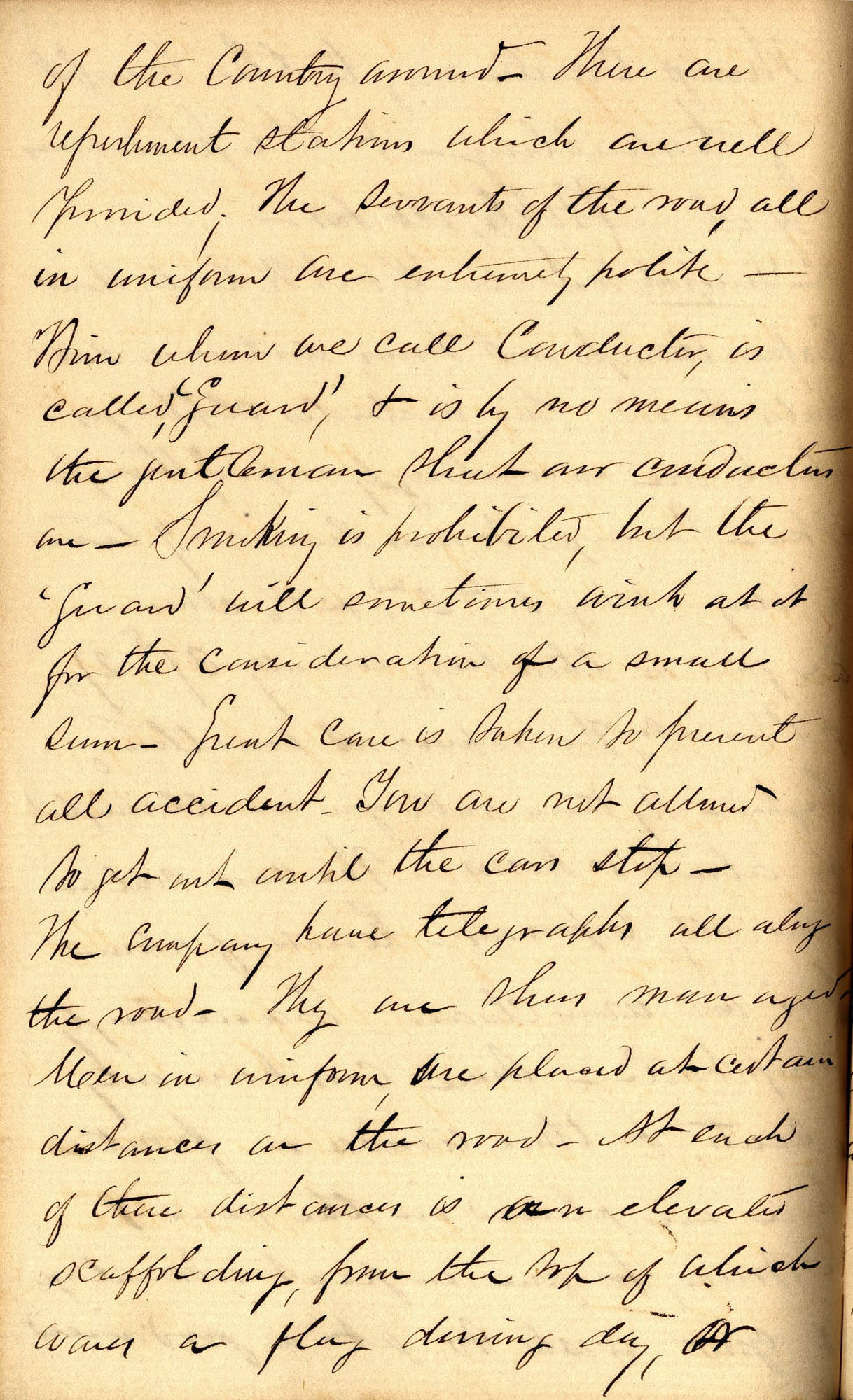 David Henry Mordecai Travel Diary (1850), Page 34b