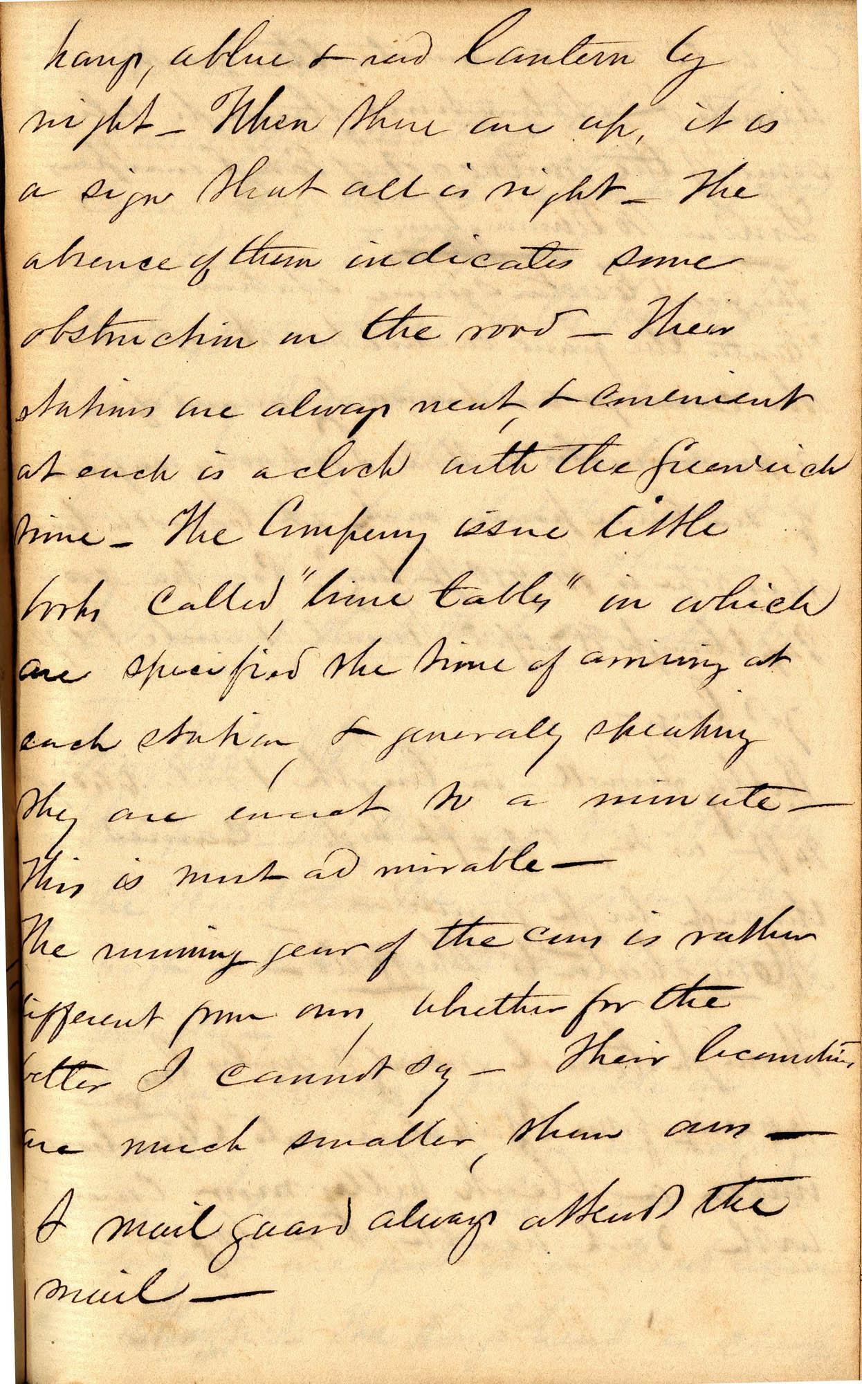 David Henry Mordecai Travel Diary (1850), Page 34c