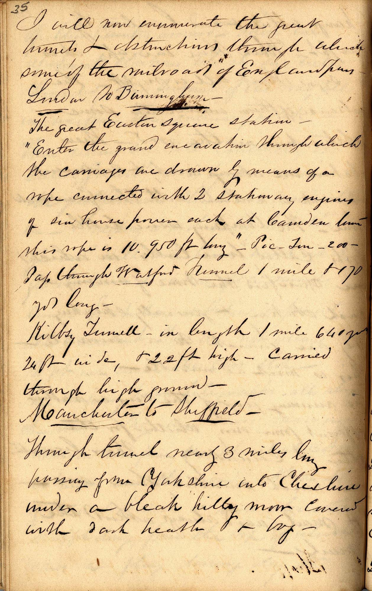 David Henry Mordecai Travel Diary (1850), Page 35
