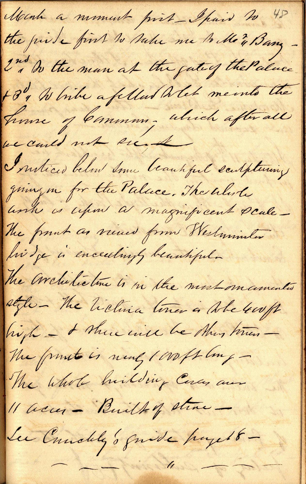 David Henry Mordecai Travel Diary (1850), Page 48