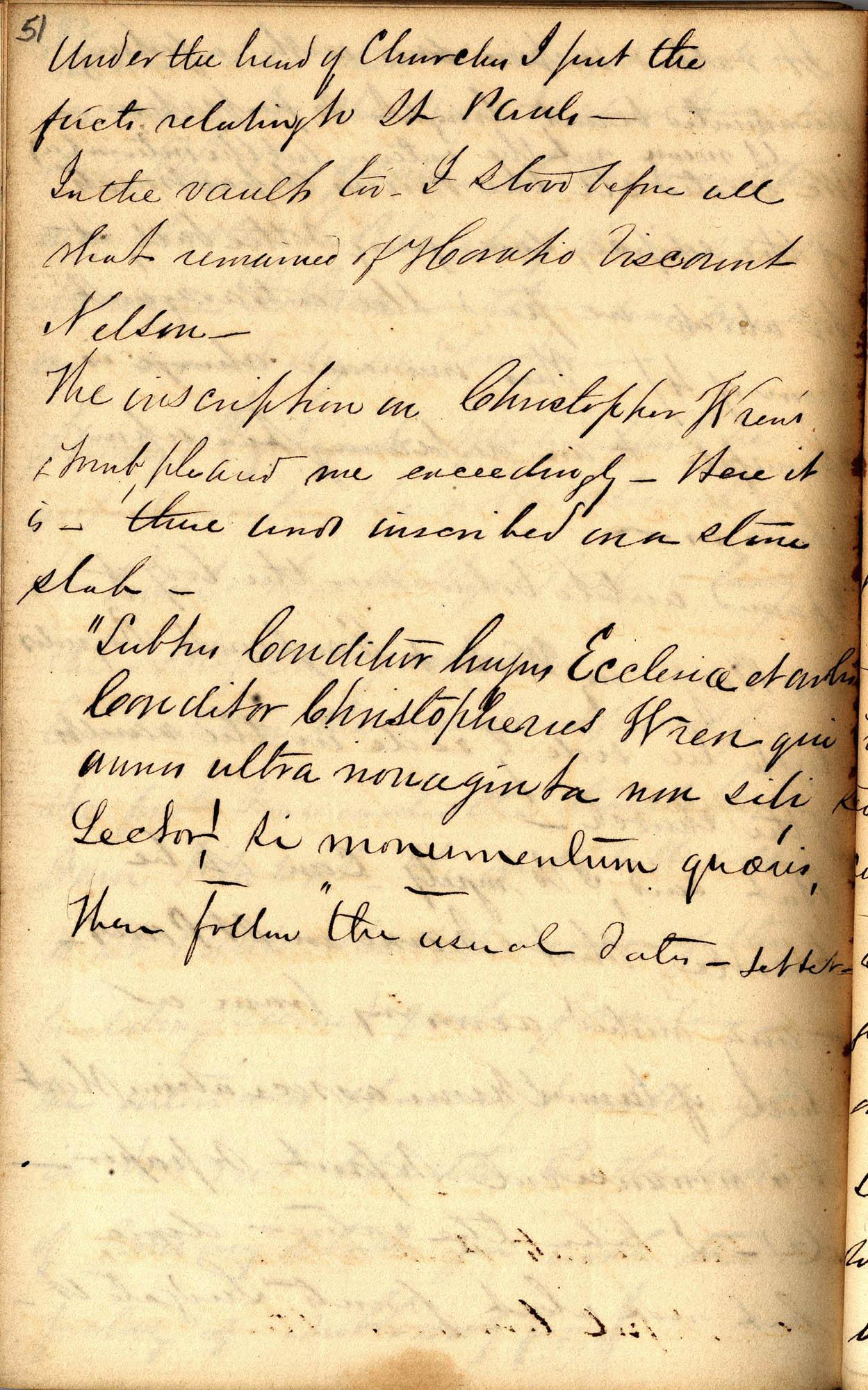David Henry Mordecai Travel Diary (1850), Page 51