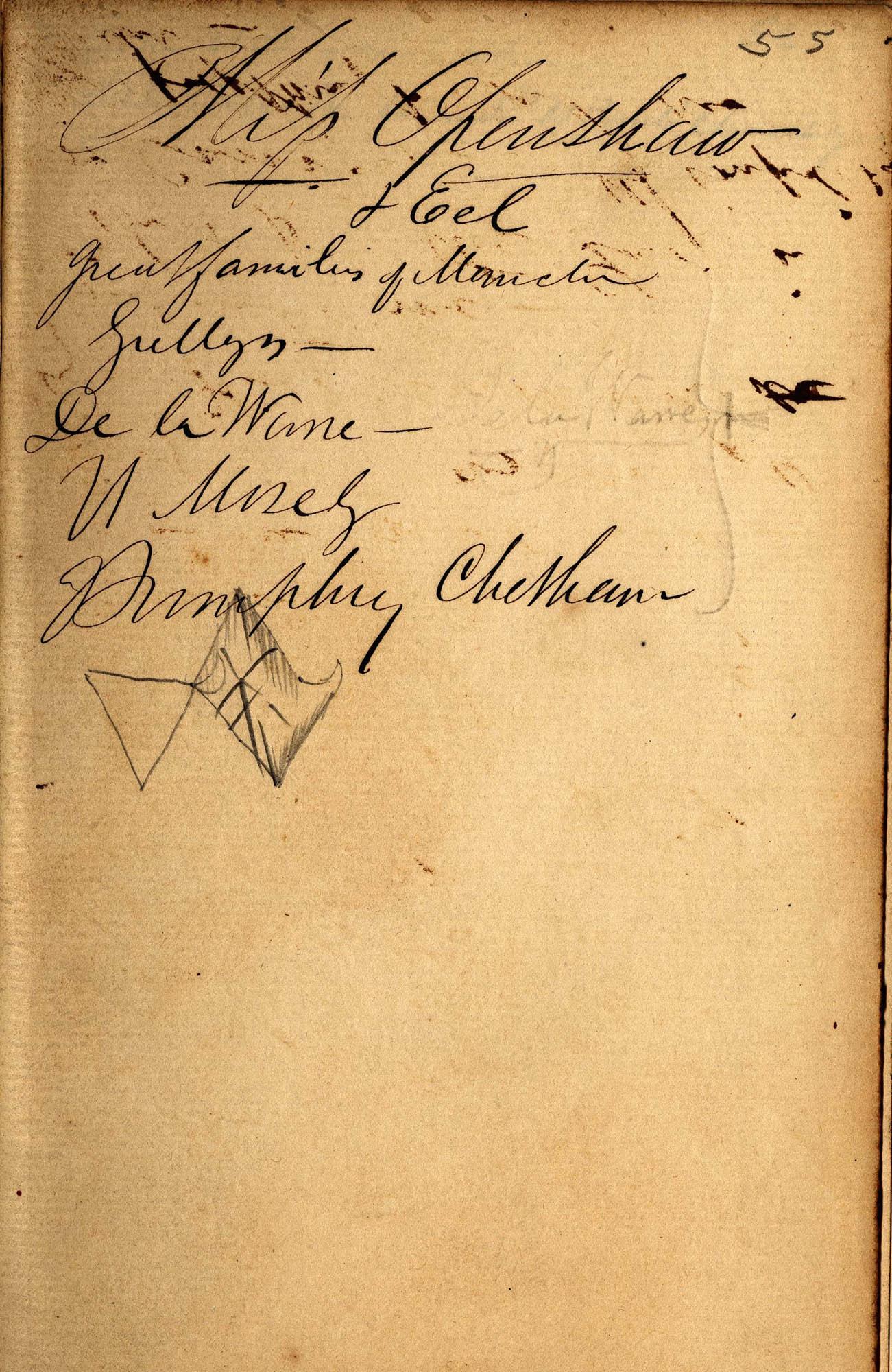 David Henry Mordecai Travel Diary (1850), Page 55