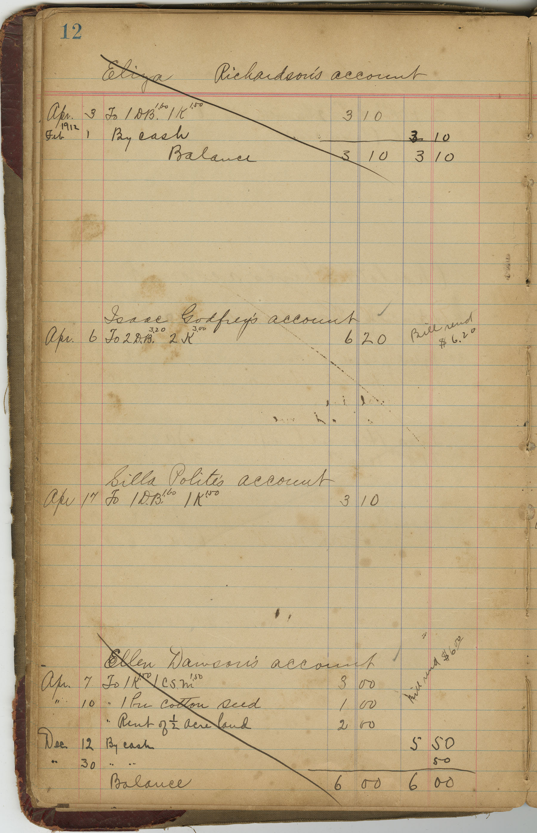 McLeod Plantation Journal, Page 31