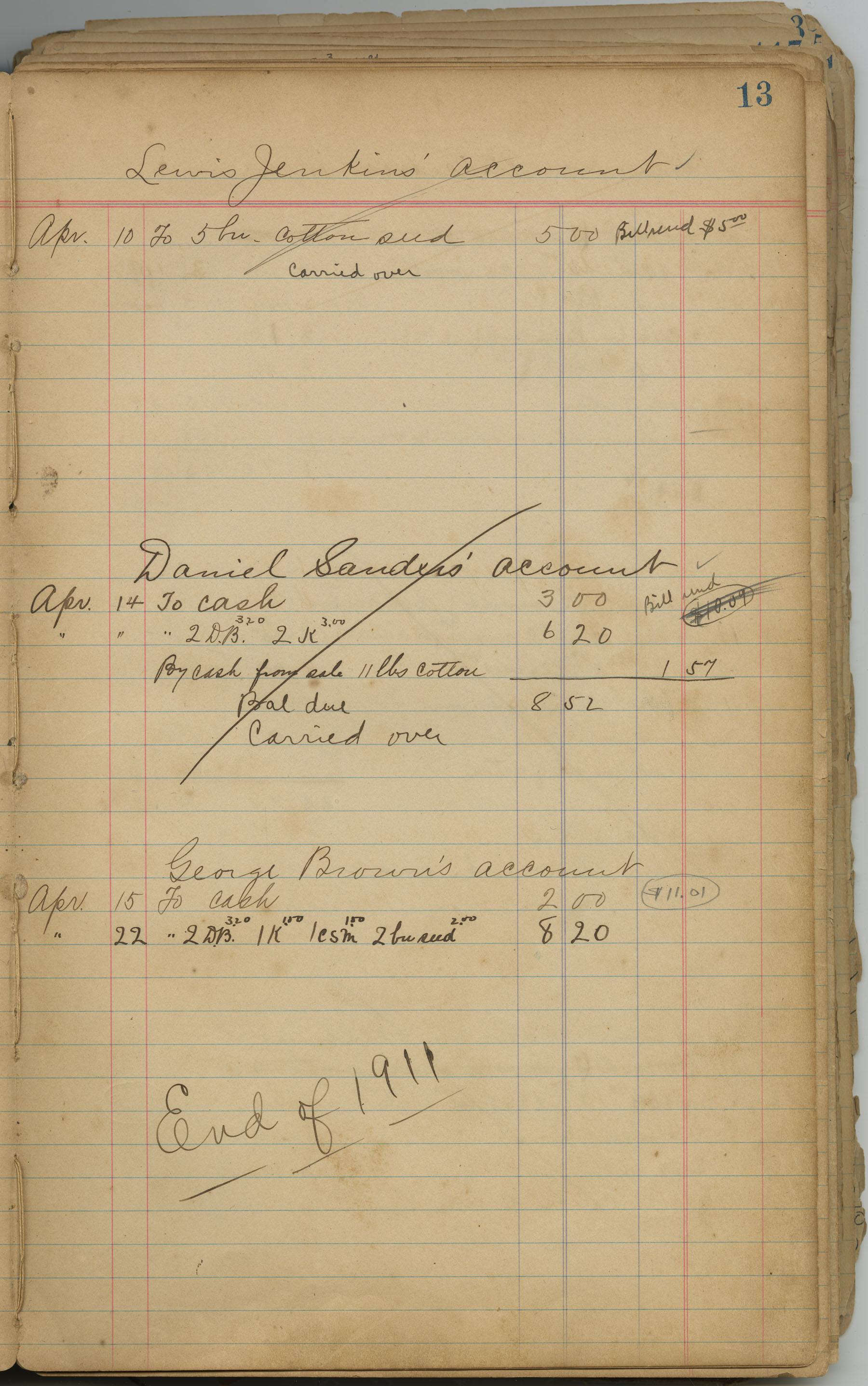 McLeod Plantation Journal, Page 32