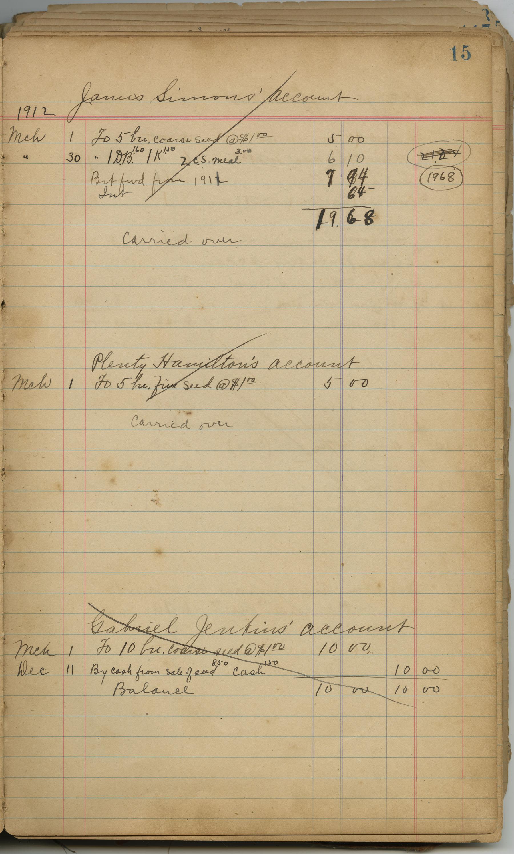 McLeod Plantation Journal, Page 34