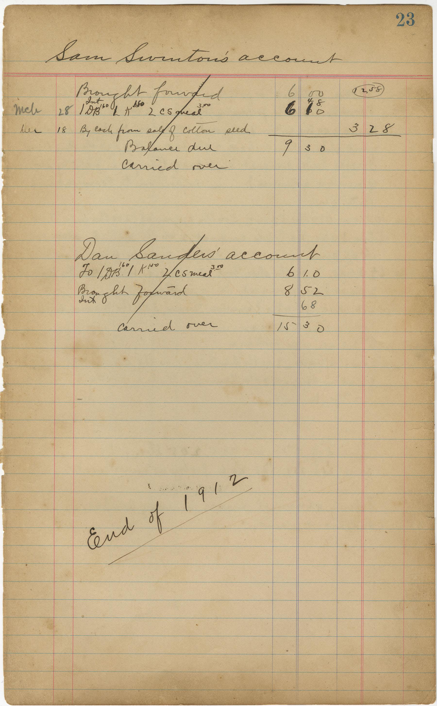 McLeod Plantation Journal, Page 42