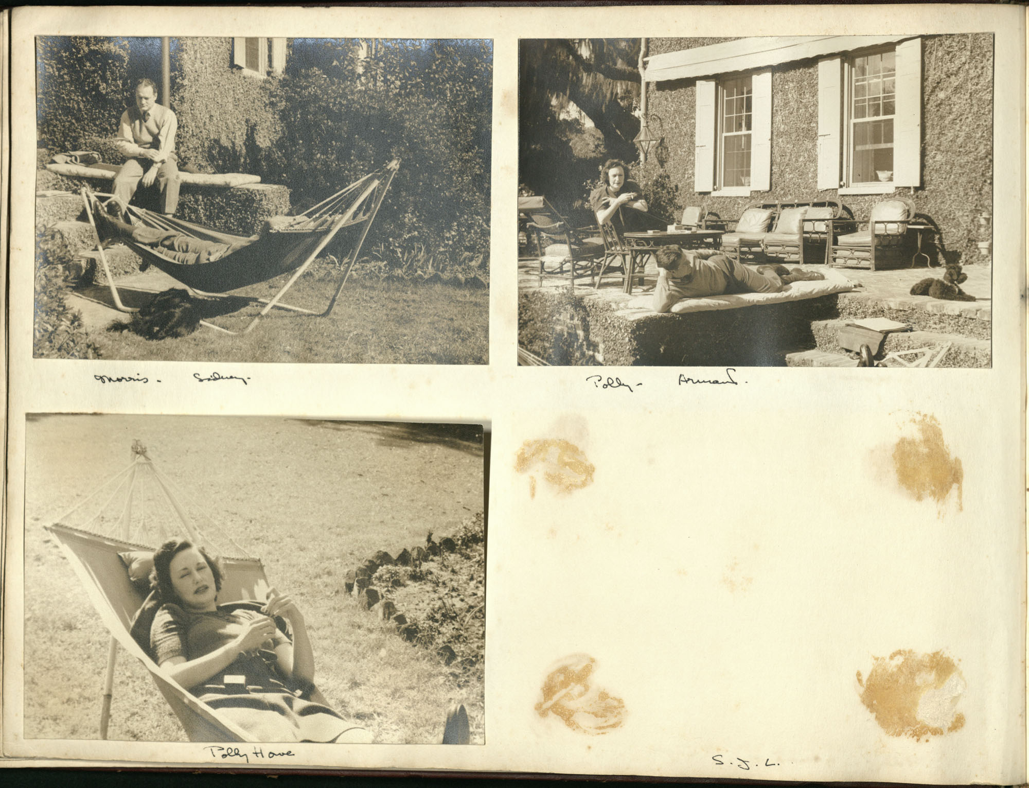 Medway Plantation Photograph Album, 1949, page 10