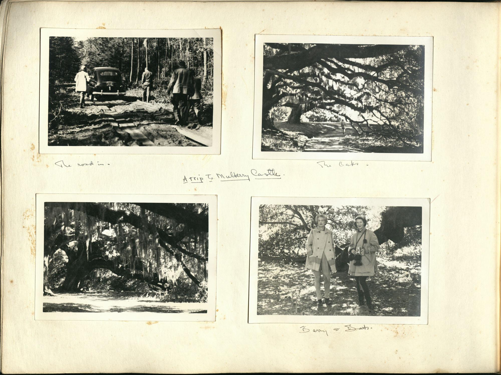 Medway Plantation Photograph Album, 1949, page 110