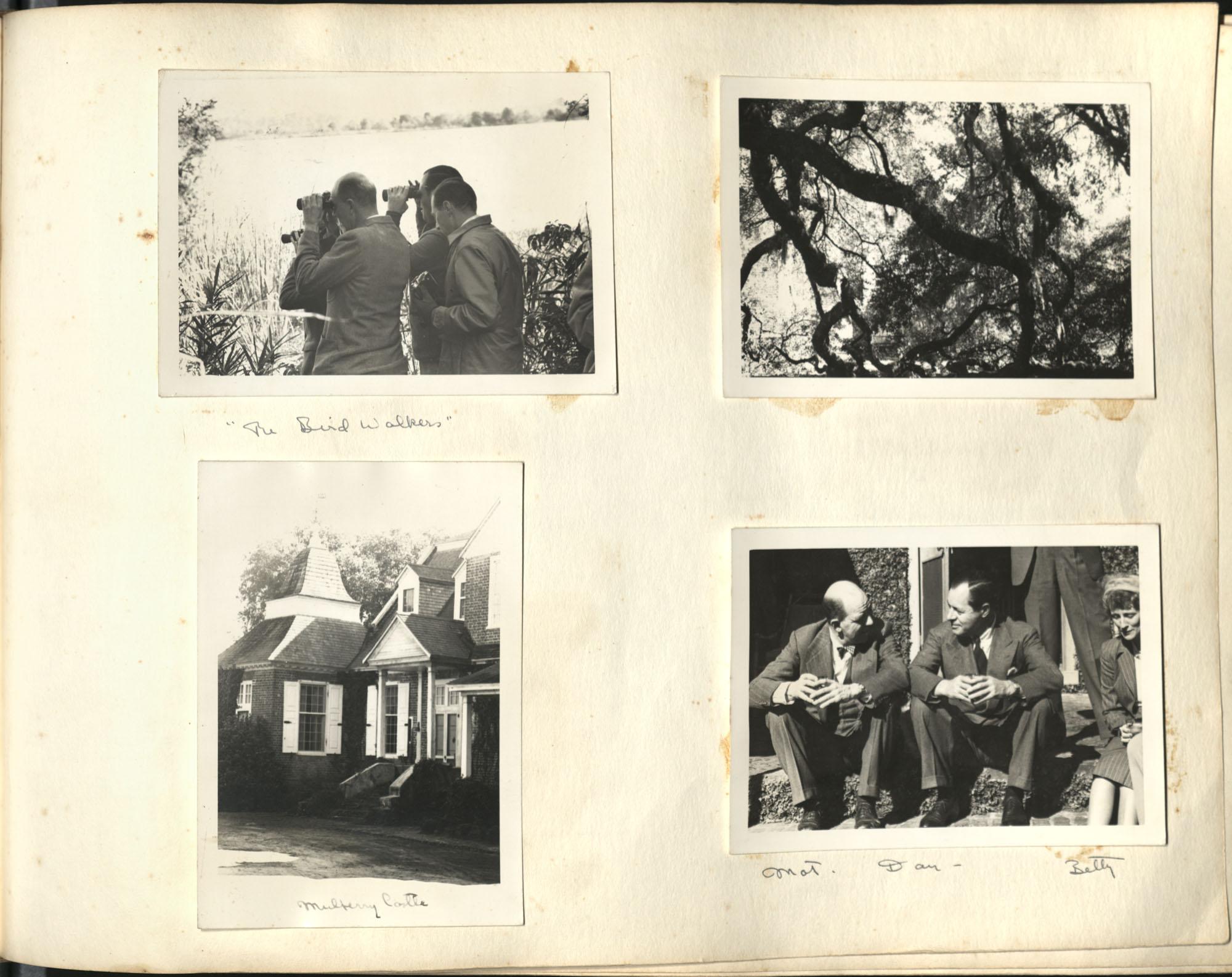 Medway Plantation Photograph Album, 1949, page 111