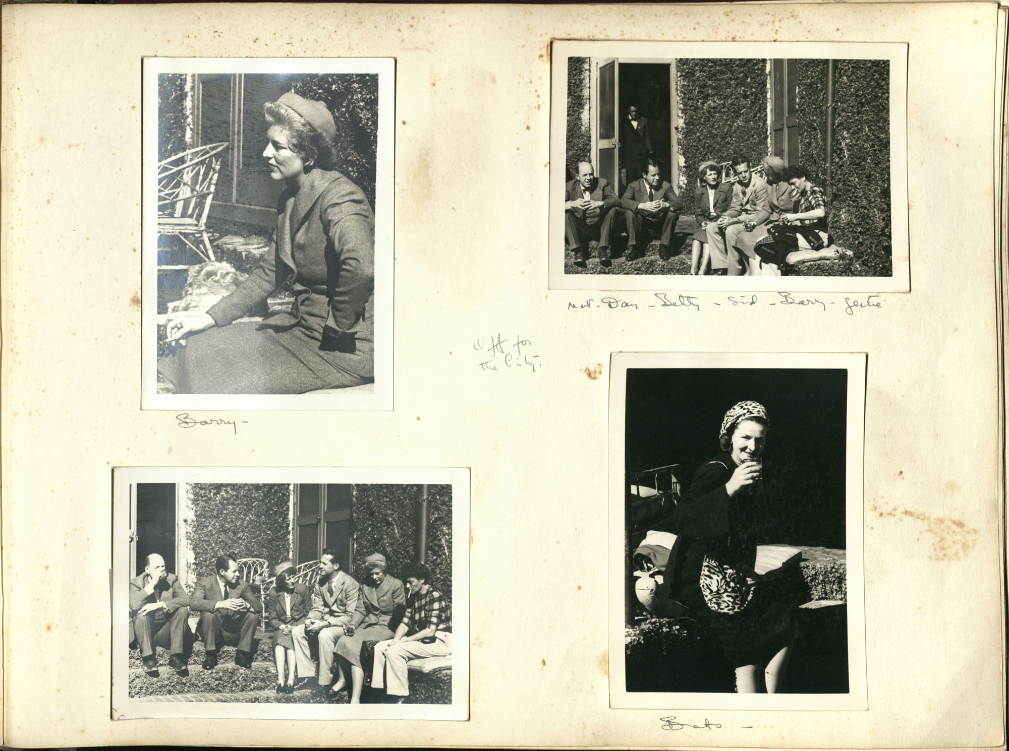 Medway Plantation Photograph Album, 1949, page 113