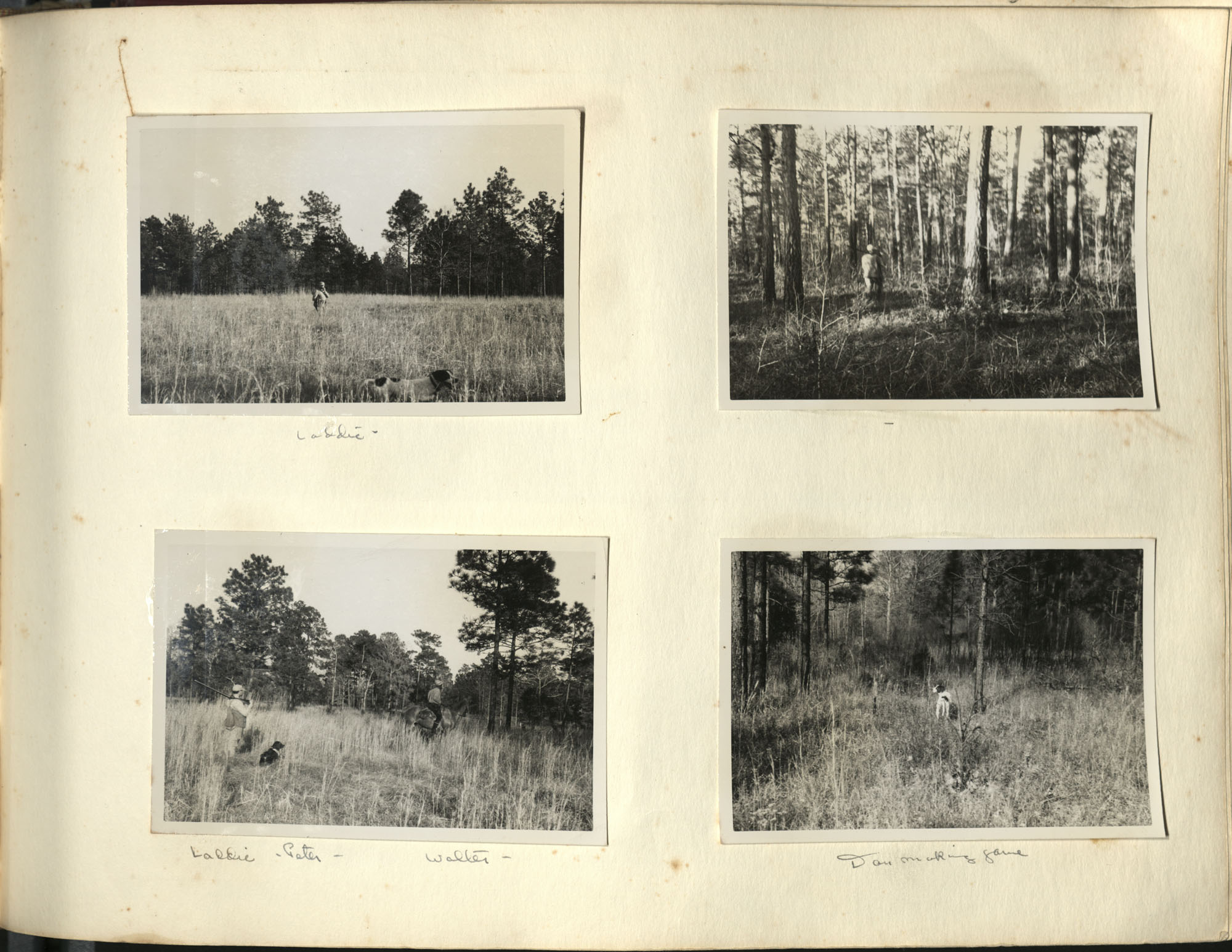 Medway Plantation Photograph Album, 1949, page 119