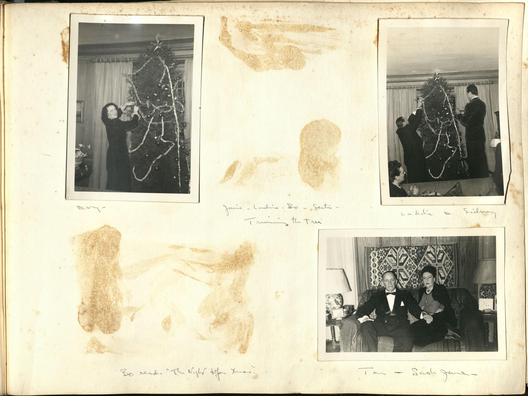 Medway Plantation Photograph Album, 1949, page 123