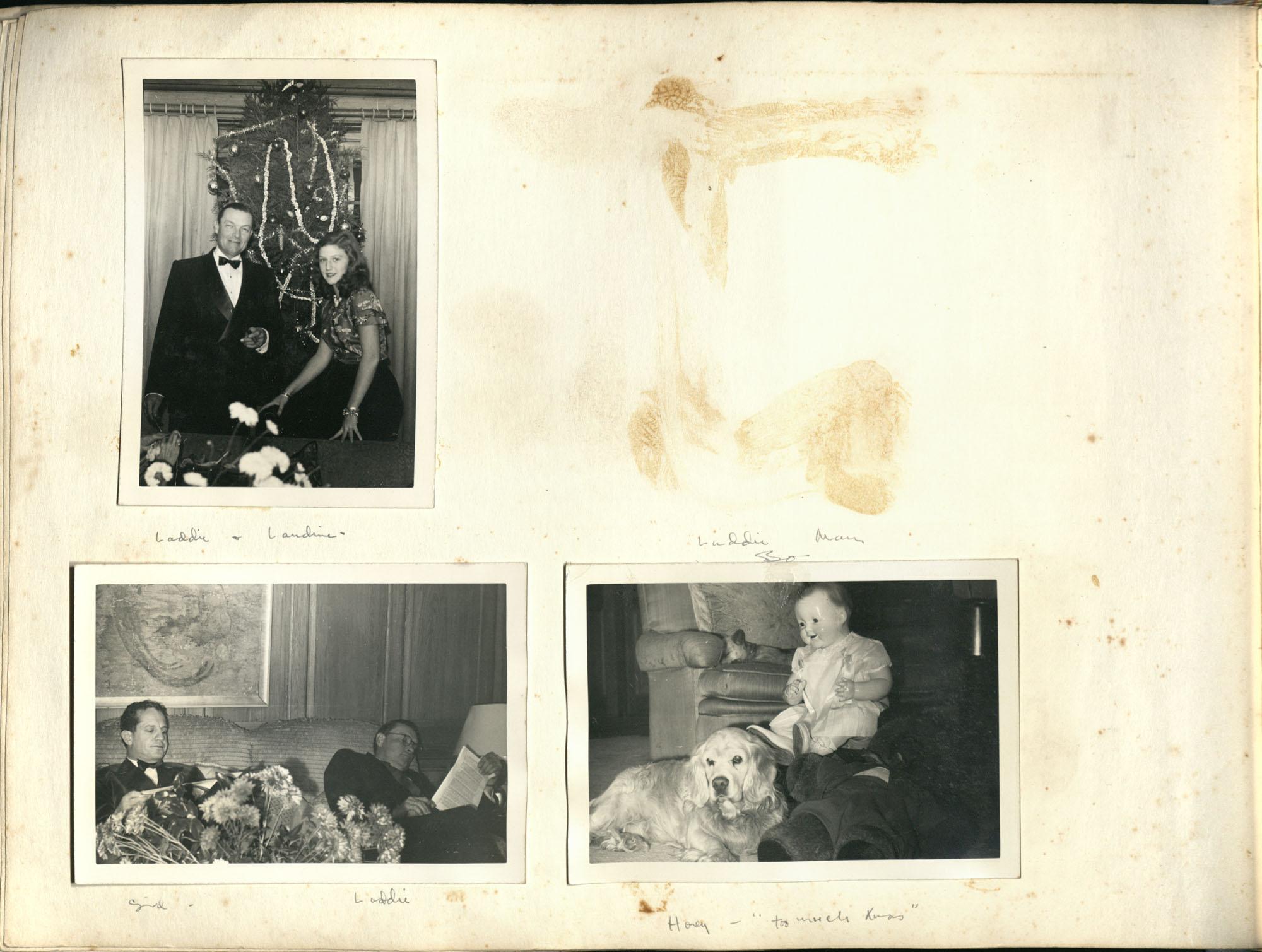 Medway Plantation Photograph Album, 1949, page 124