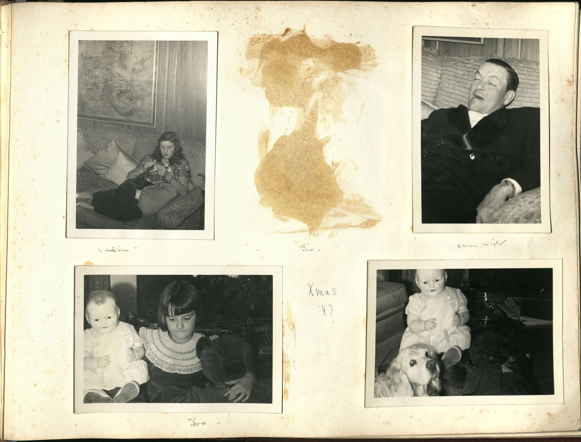 Medway Plantation Photograph Album, 1949, page 125