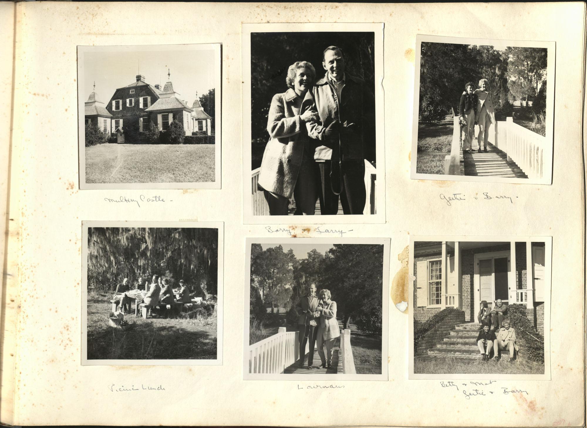 Medway Plantation Photograph Album, 1949, page 127