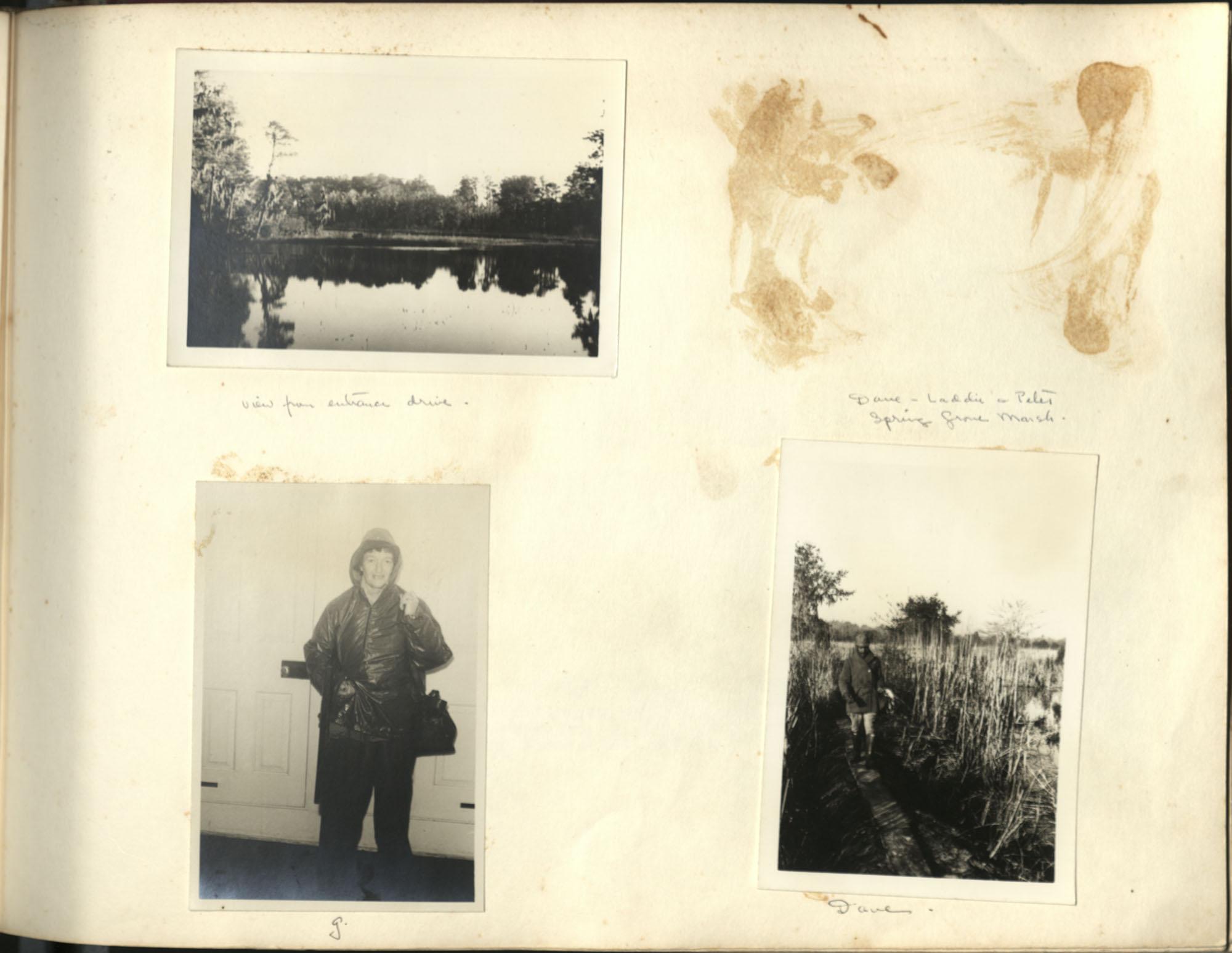 Medway Plantation Photograph Album, 1949, page 129