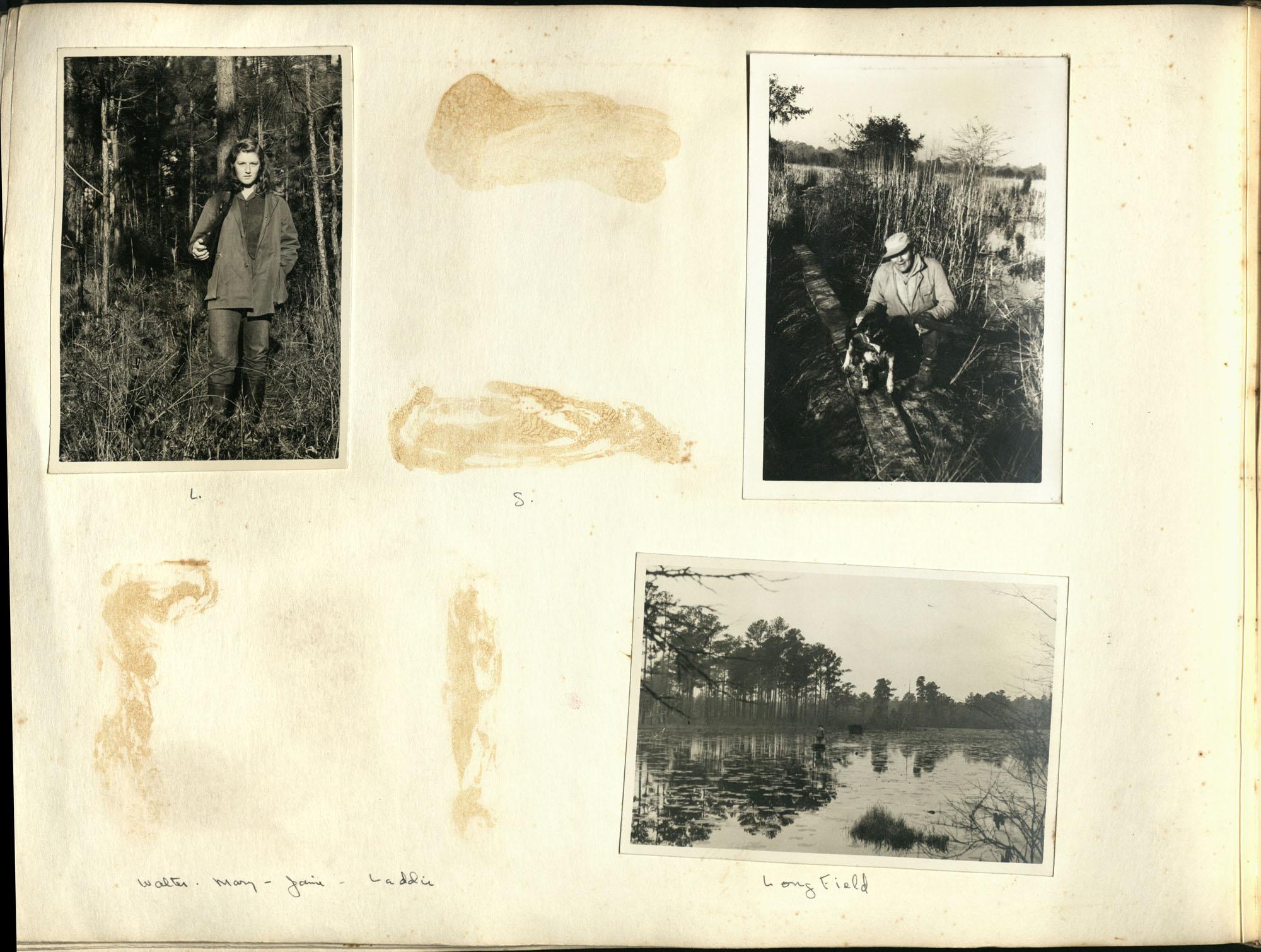 Medway Plantation Photograph Album, 1949, page 134