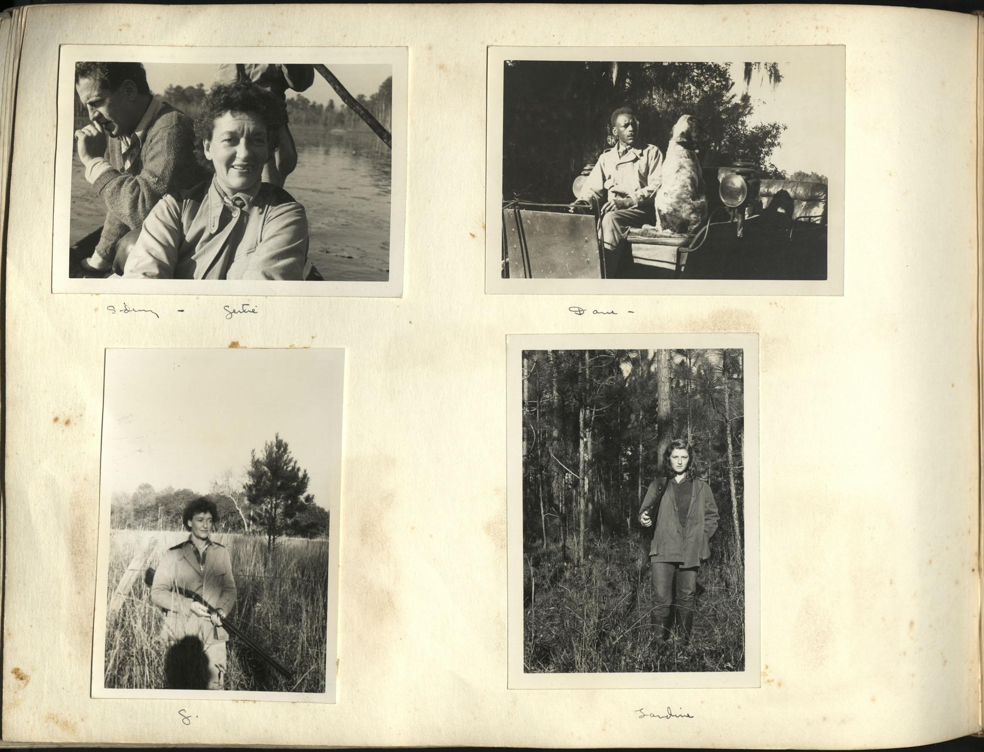 Medway Plantation Photograph Album, 1949, page 136