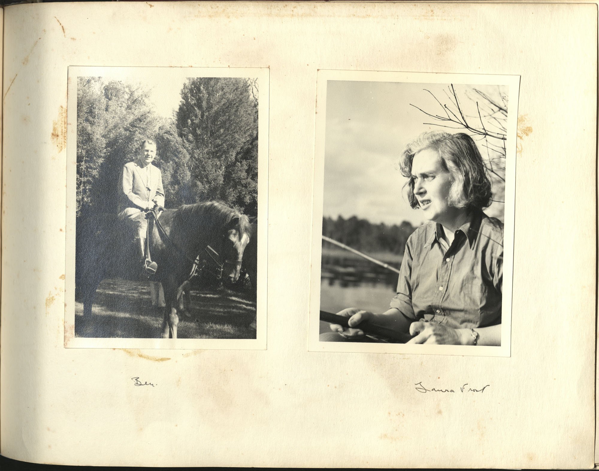 Medway Plantation Photograph Album, 1949, page 147