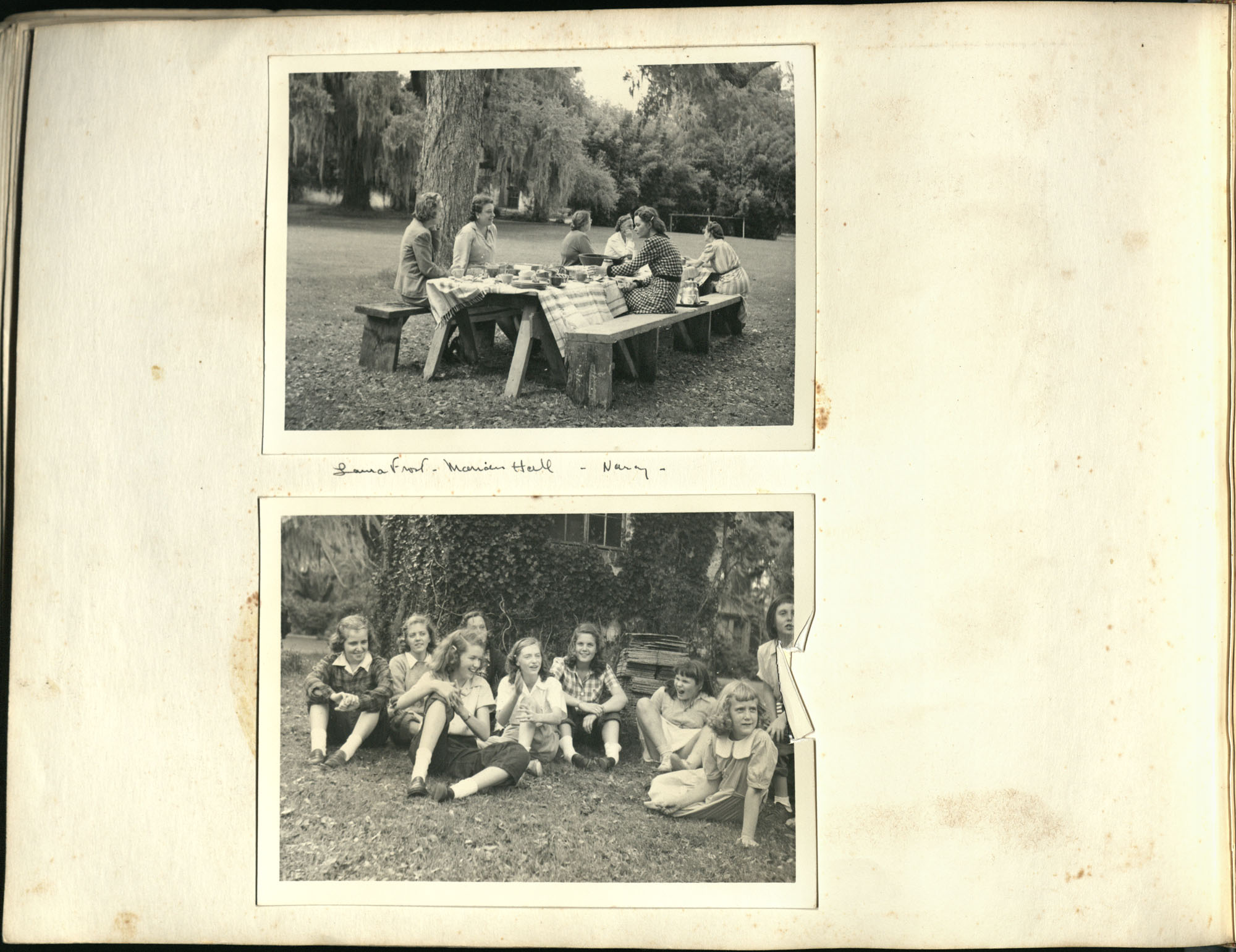 Medway Plantation Photograph Album, 1949, page 148