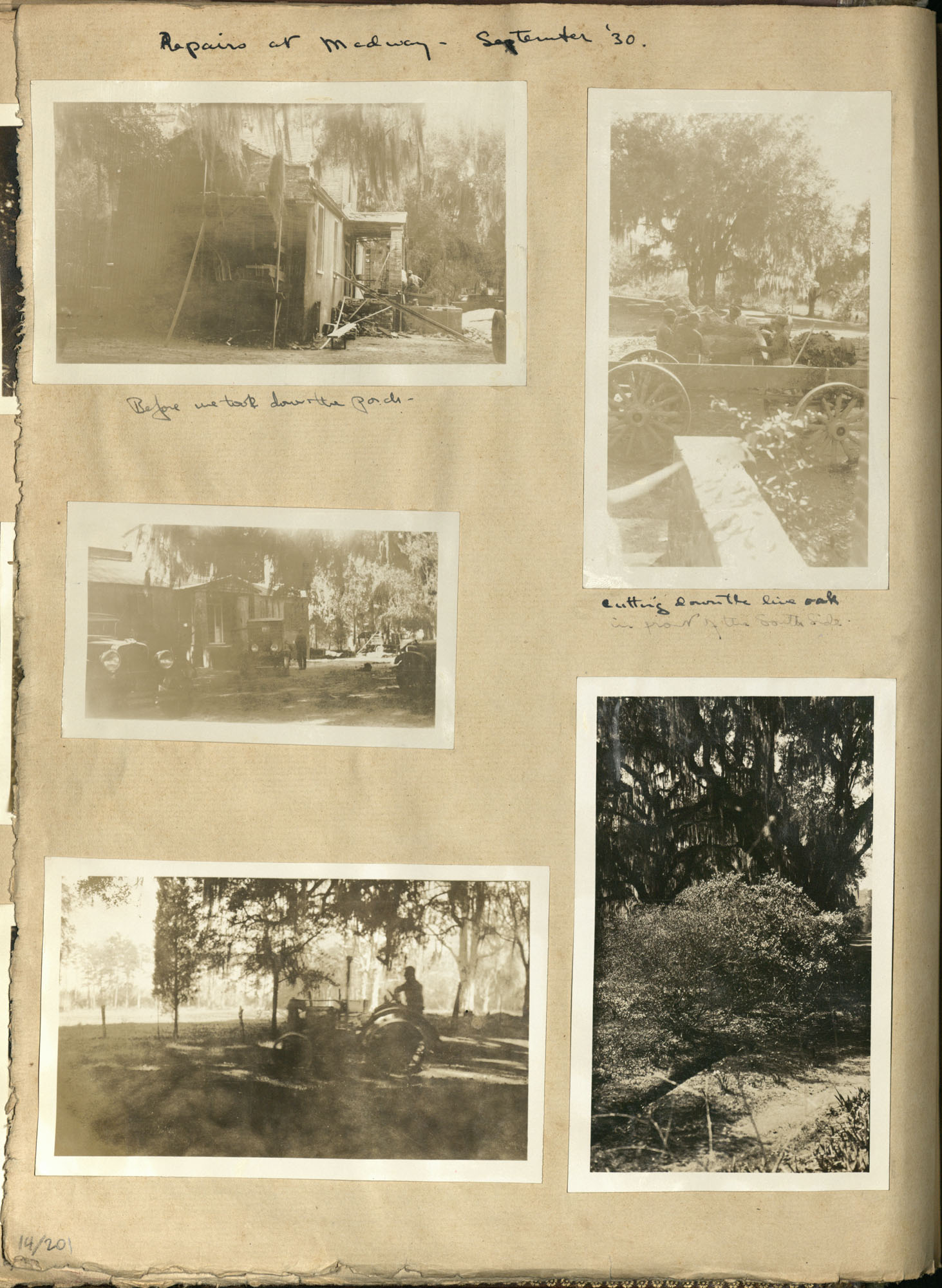 Early Medway and travels album, 1929-1937, page 14