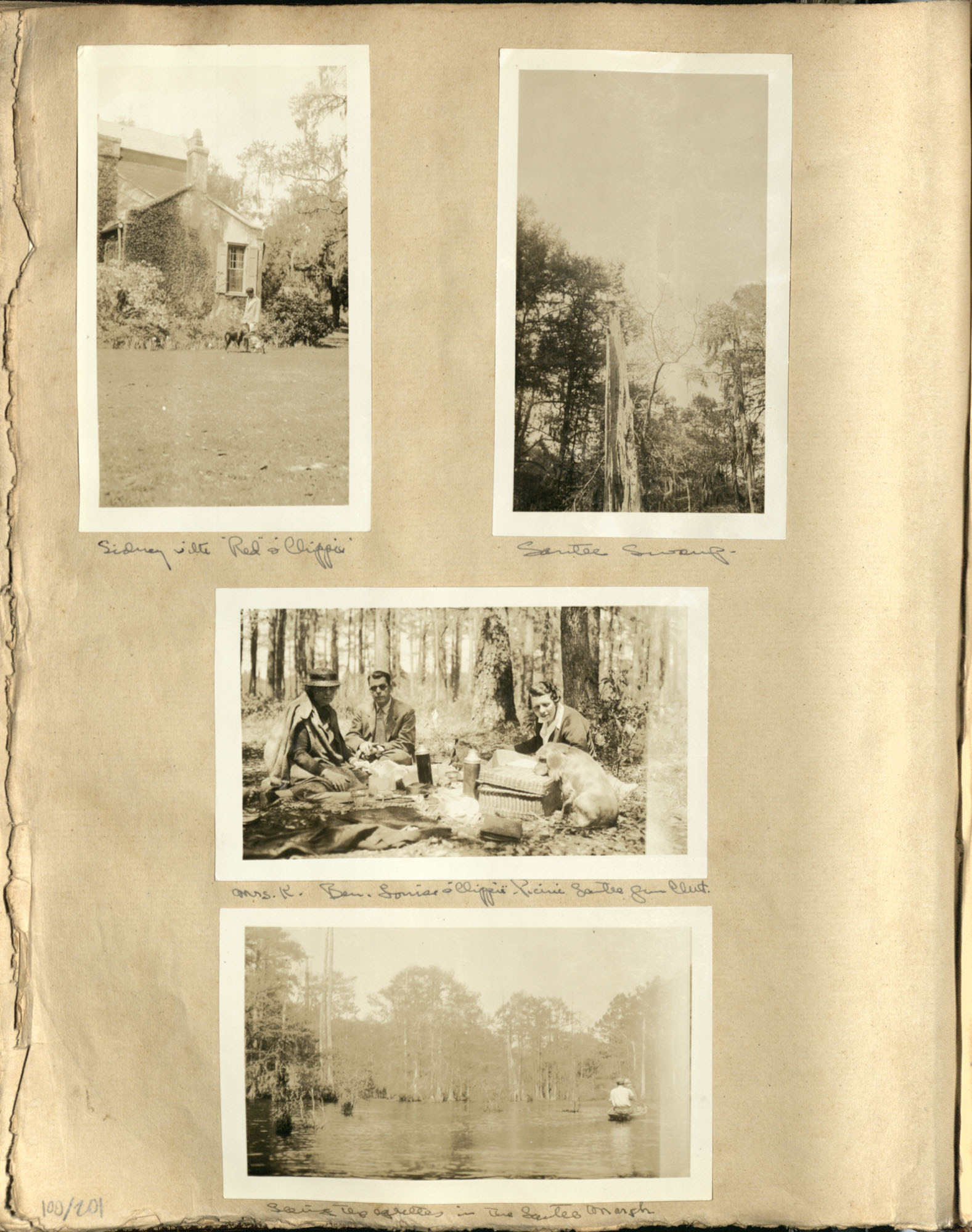Early Medway and travels album, 1929-1937, page 100