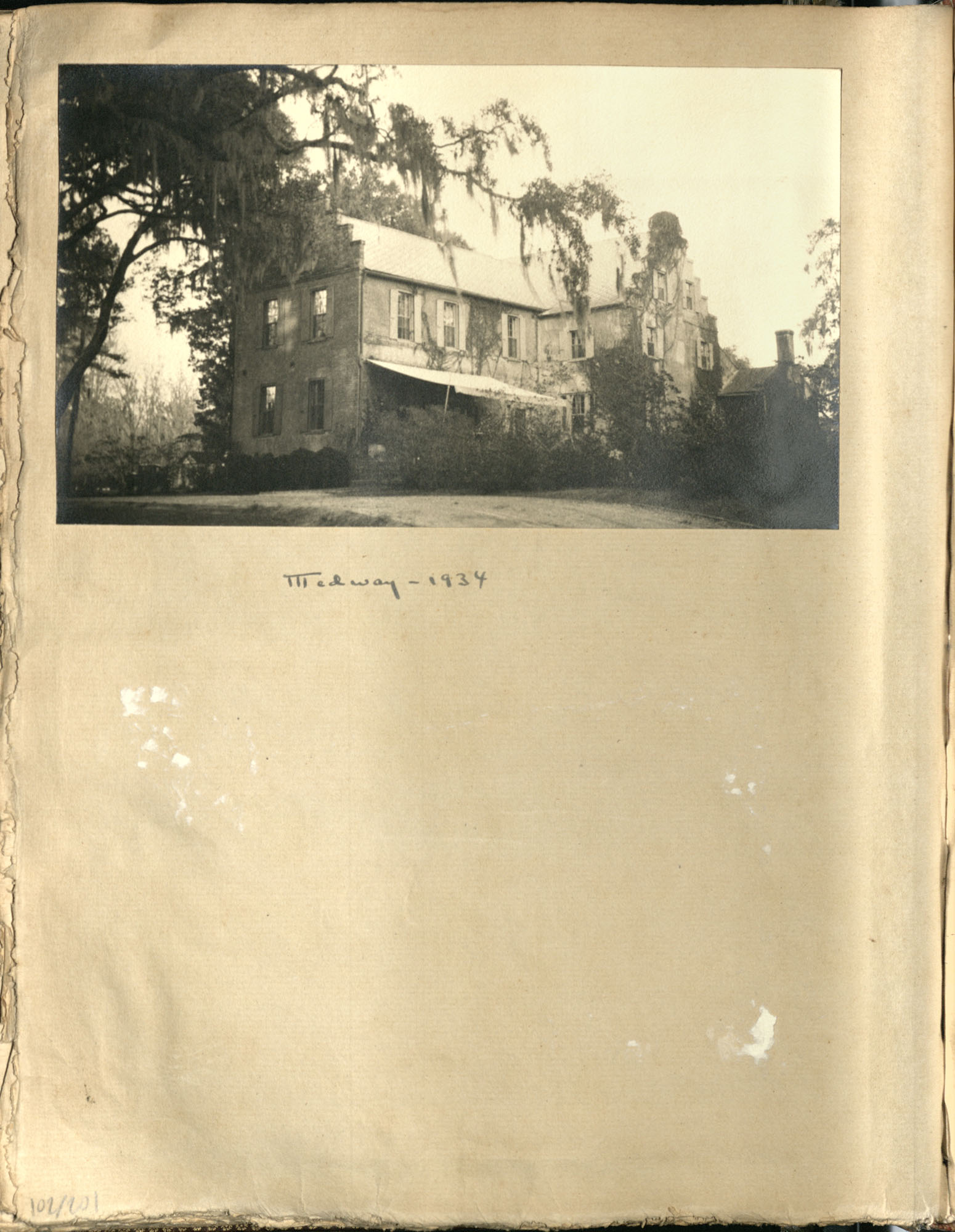 Early Medway and travels album, 1929-1937, page 102
