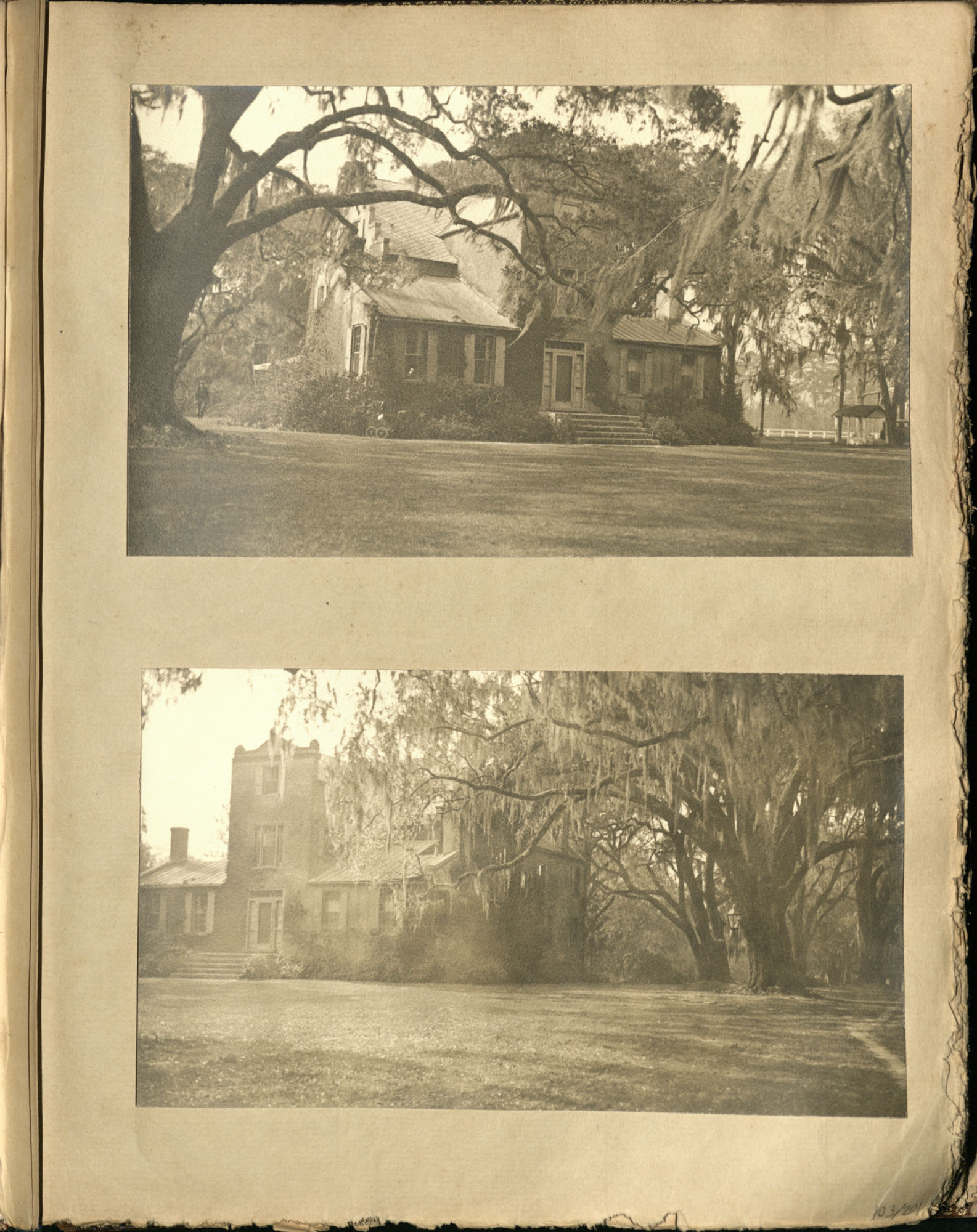 Early Medway and travels album, 1929-1937, page 103