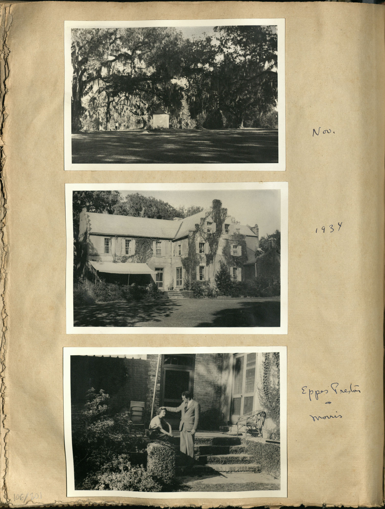 Early Medway and travels album, 1929-1937, page 106