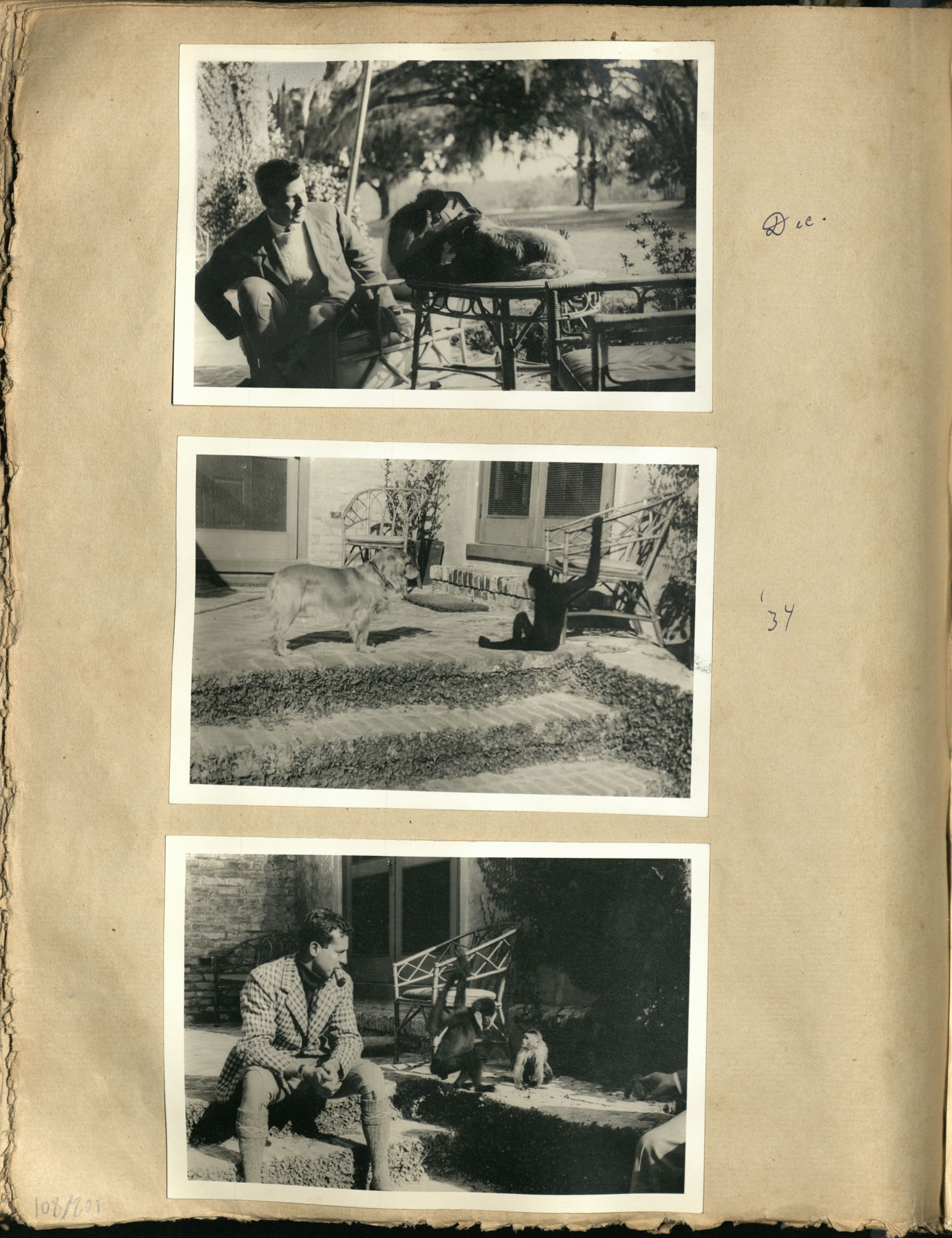 Early Medway and travels album, 1929-1937, page 108