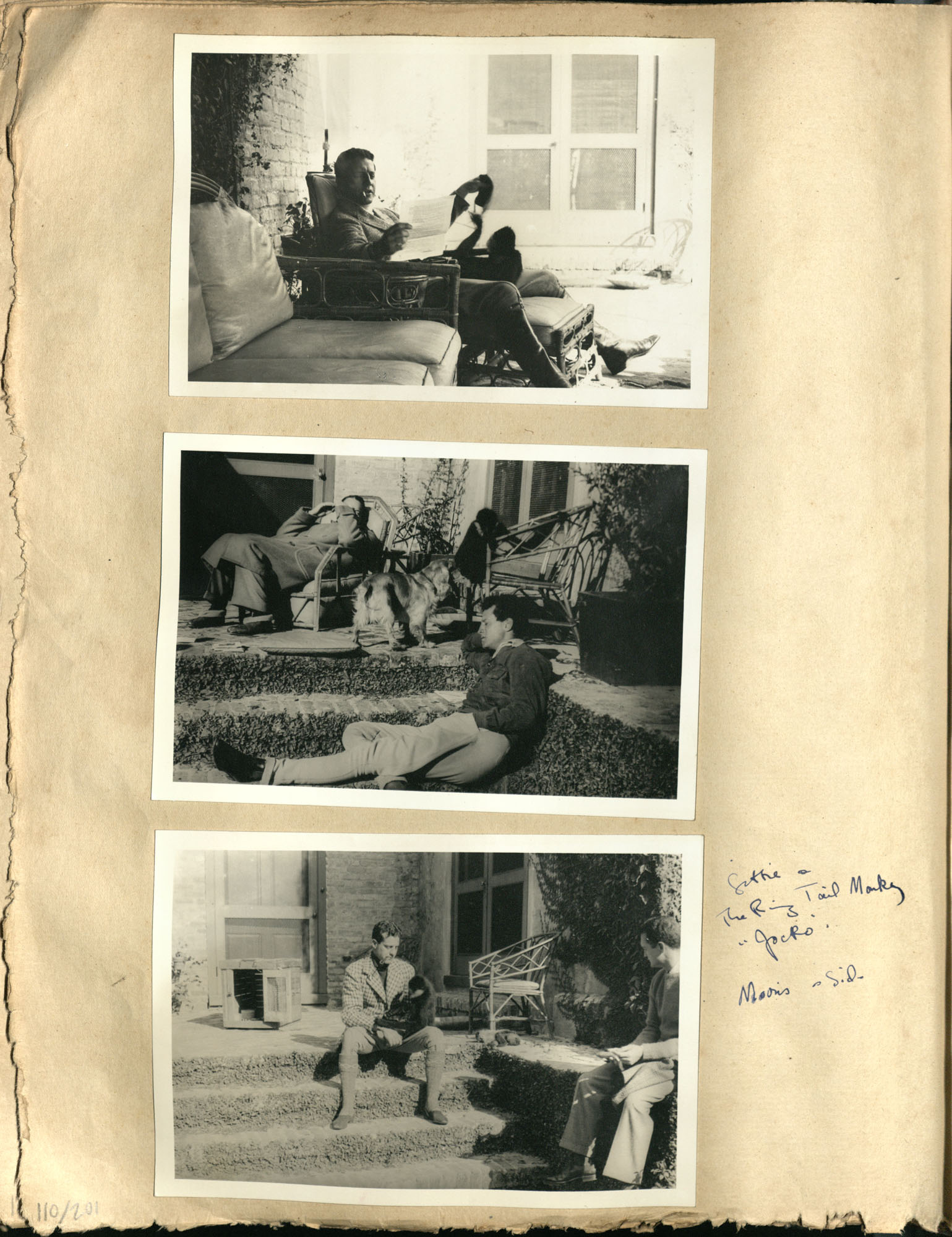 Early Medway and travels album, 1929-1937, page 110