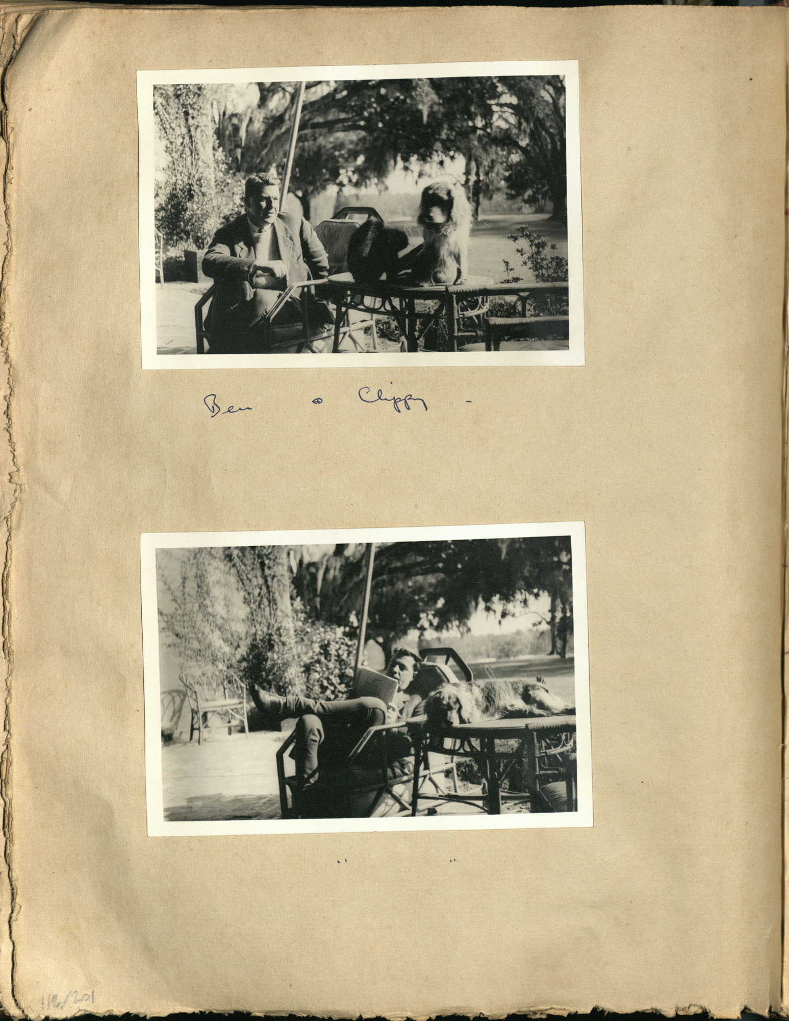 Early Medway and travels album, 1929-1937, page 112